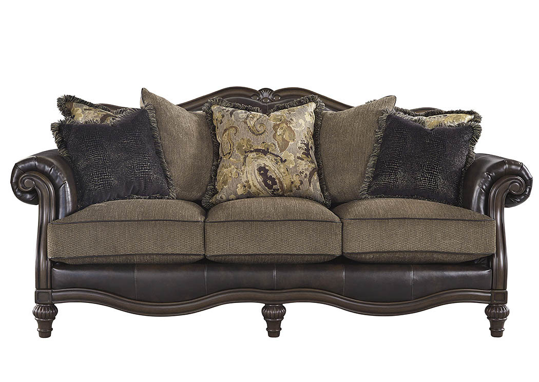 Winnsboro DuraBlend Vintage Sofa,Signature Design By Ashley