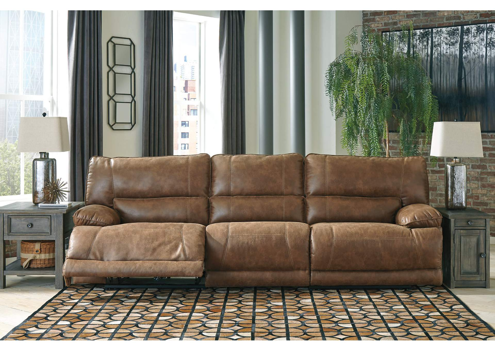 Thurles Saddle Reclining Sofa,Signature Design By Ashley