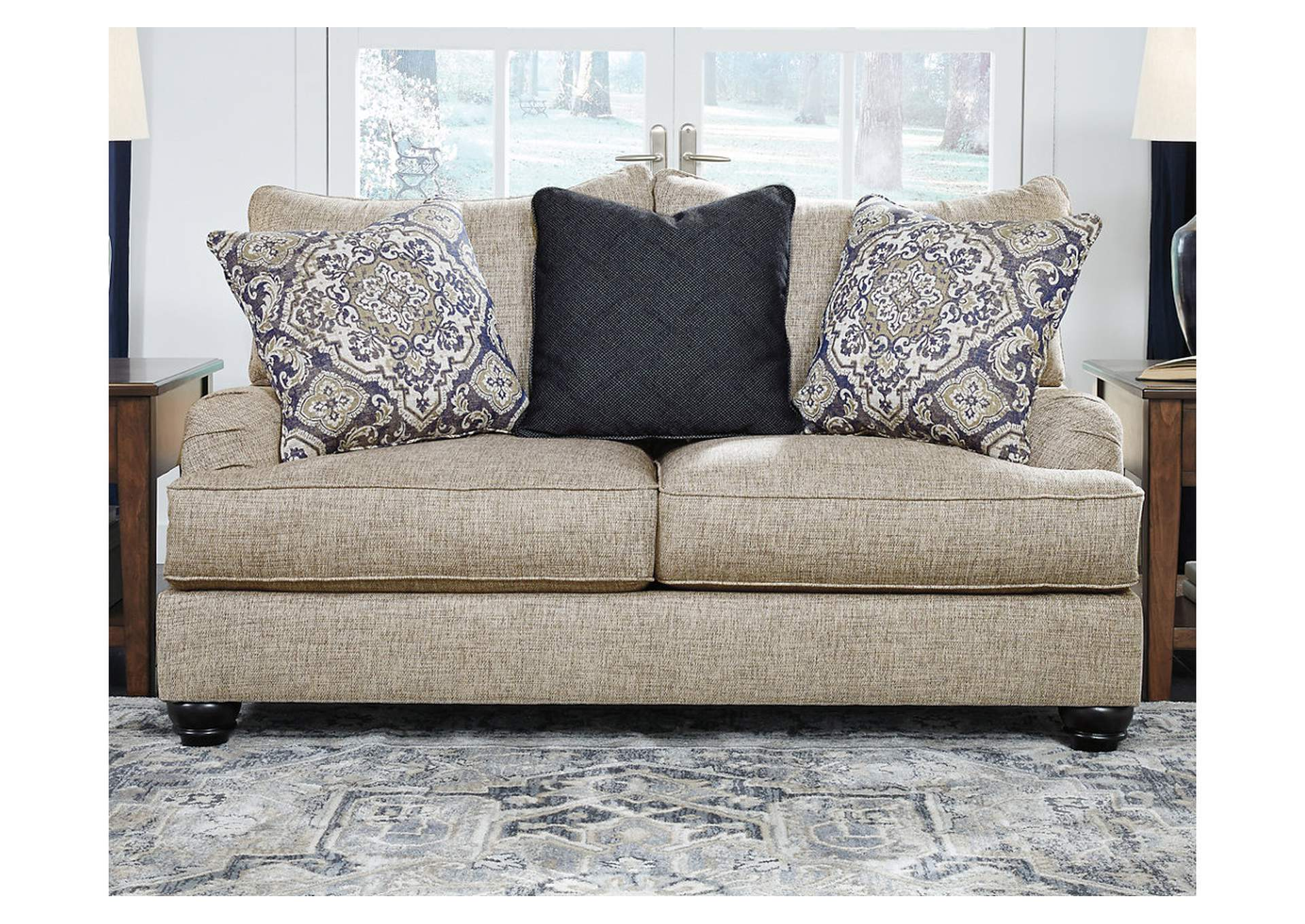 Reardon Gray Loveseat,Signature Design By Ashley