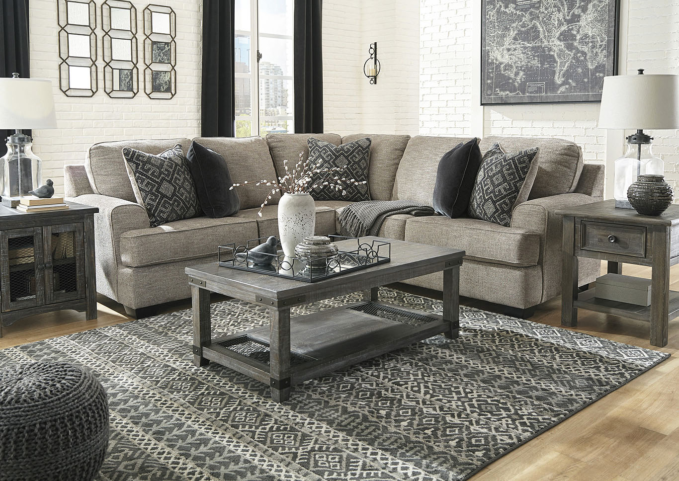 Bovarian Stone 2 Piece Sectional,Signature Design By Ashley