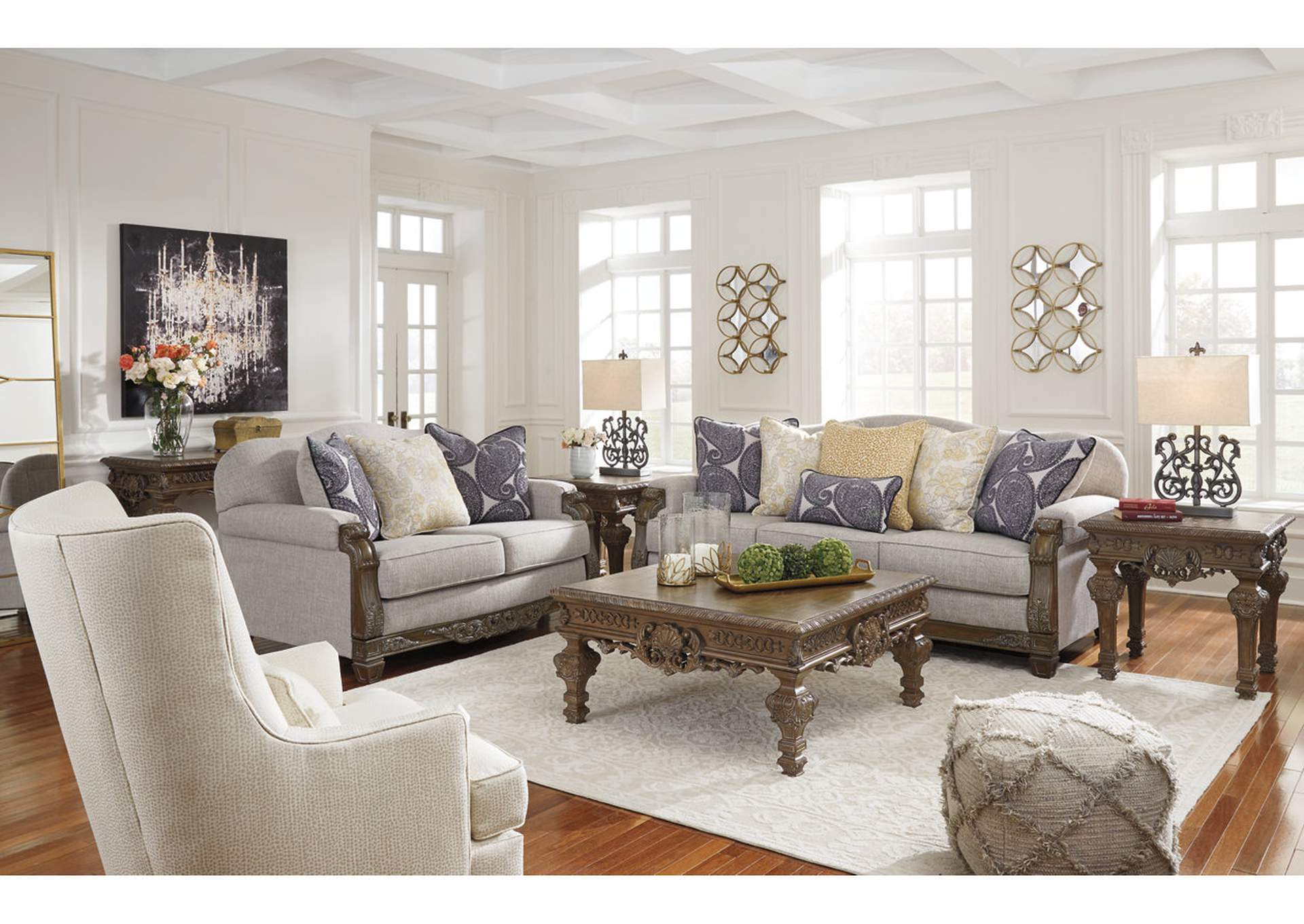 Sylewood Sofa & Loveseat,Signature Design By Ashley