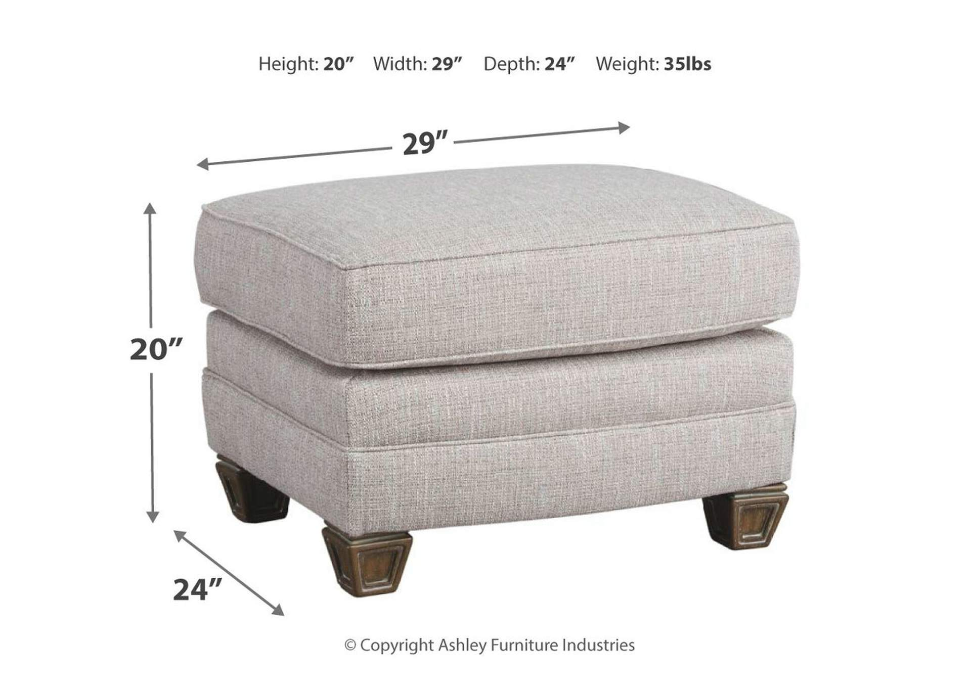 Sylewood Ottoman,Signature Design By Ashley