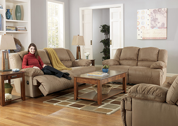 Lancaster S Furniture To Go Hogan Mocha Reclining Sofa Loveseat