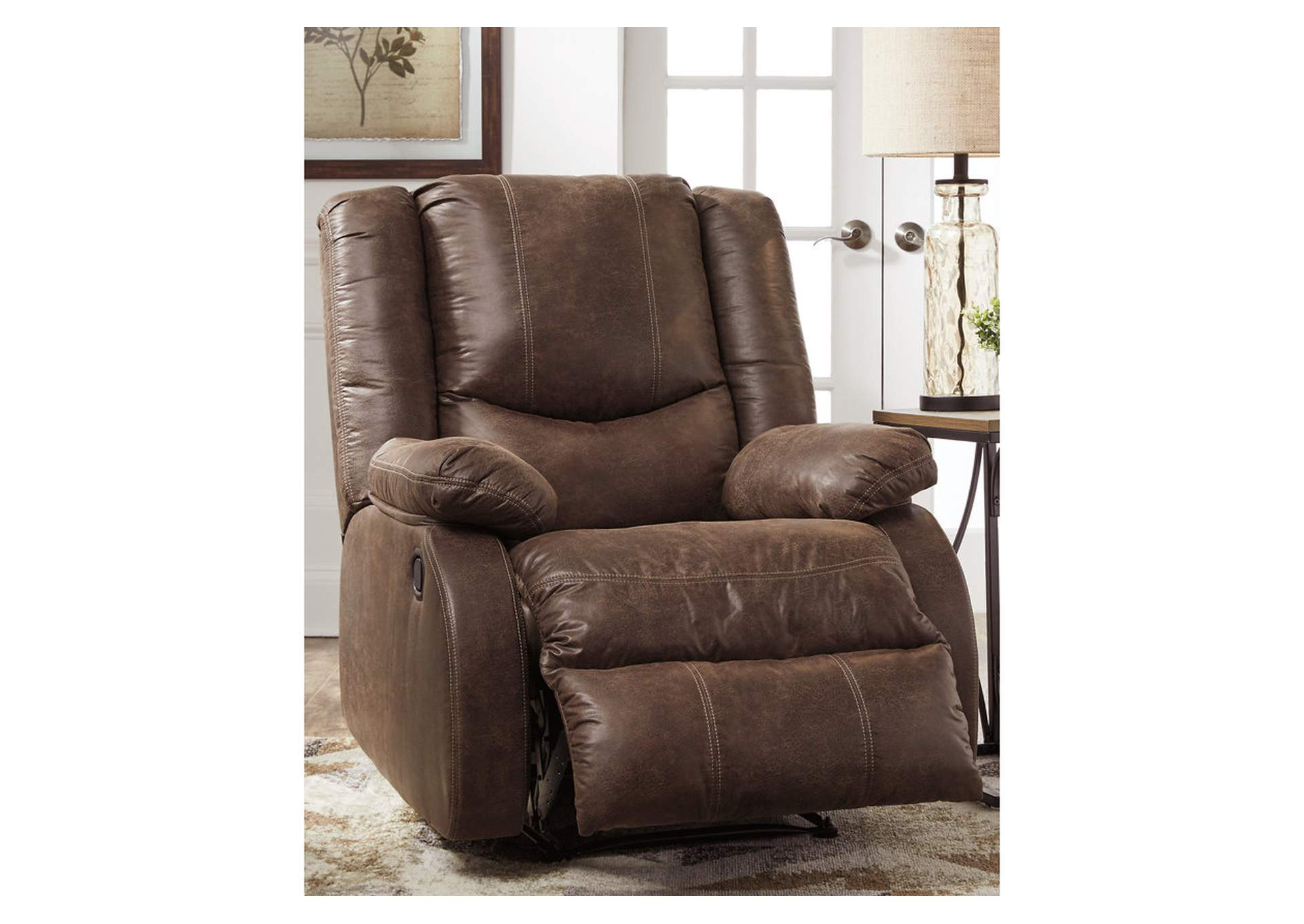 Bladewood Coffee Recliner,Signature Design By Ashley