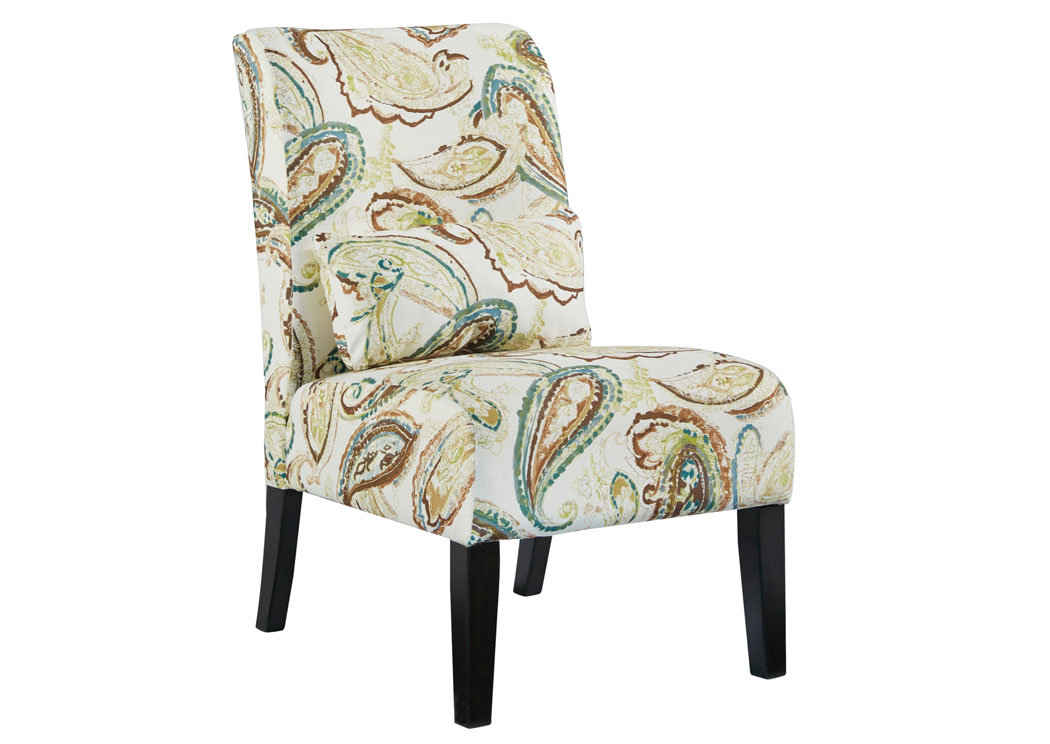 Annora Paisley Accent Chair,Signature Design By Ashley