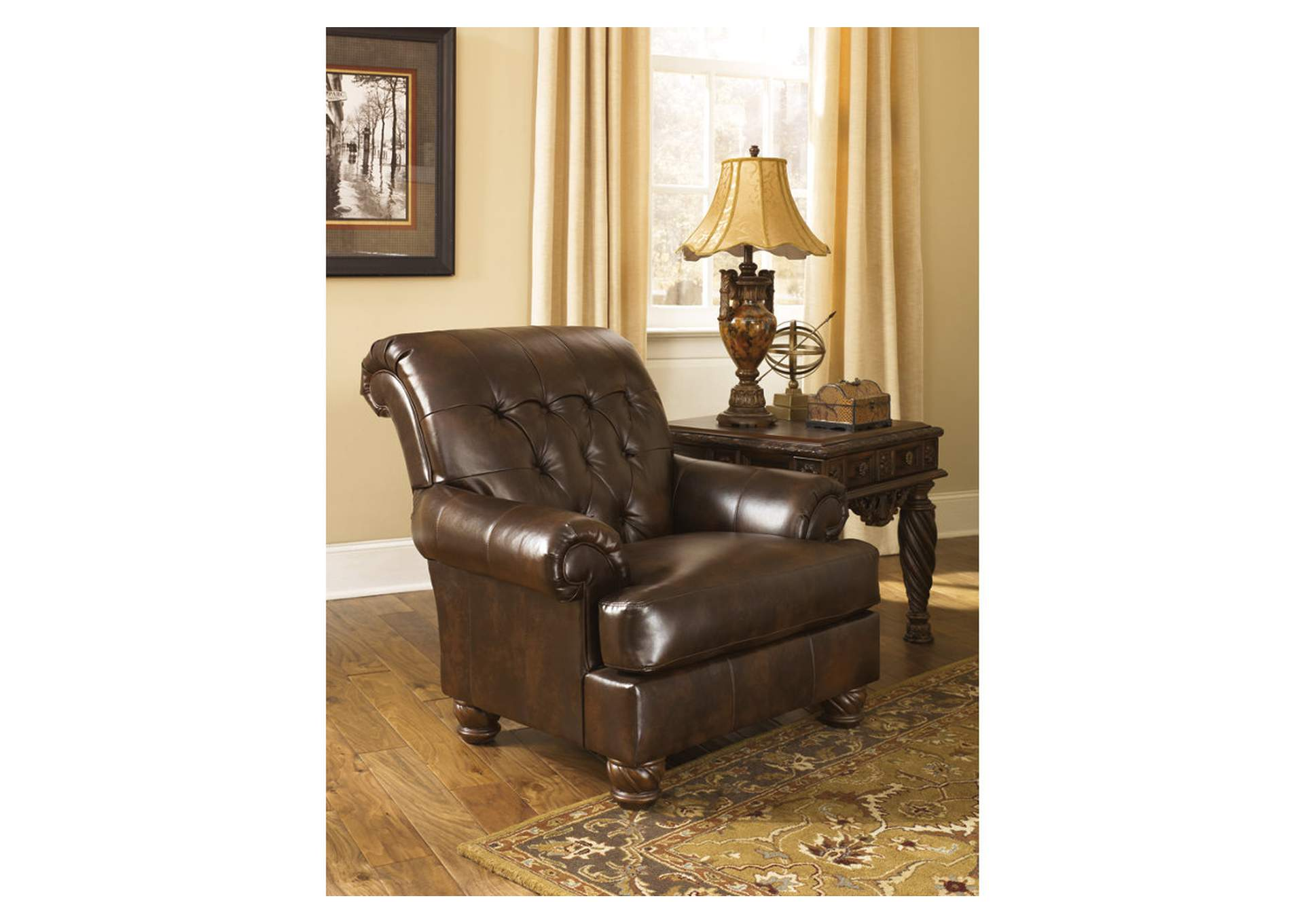 Fresco DuraBlend Antique Accent Chair,Signature Design By Ashley