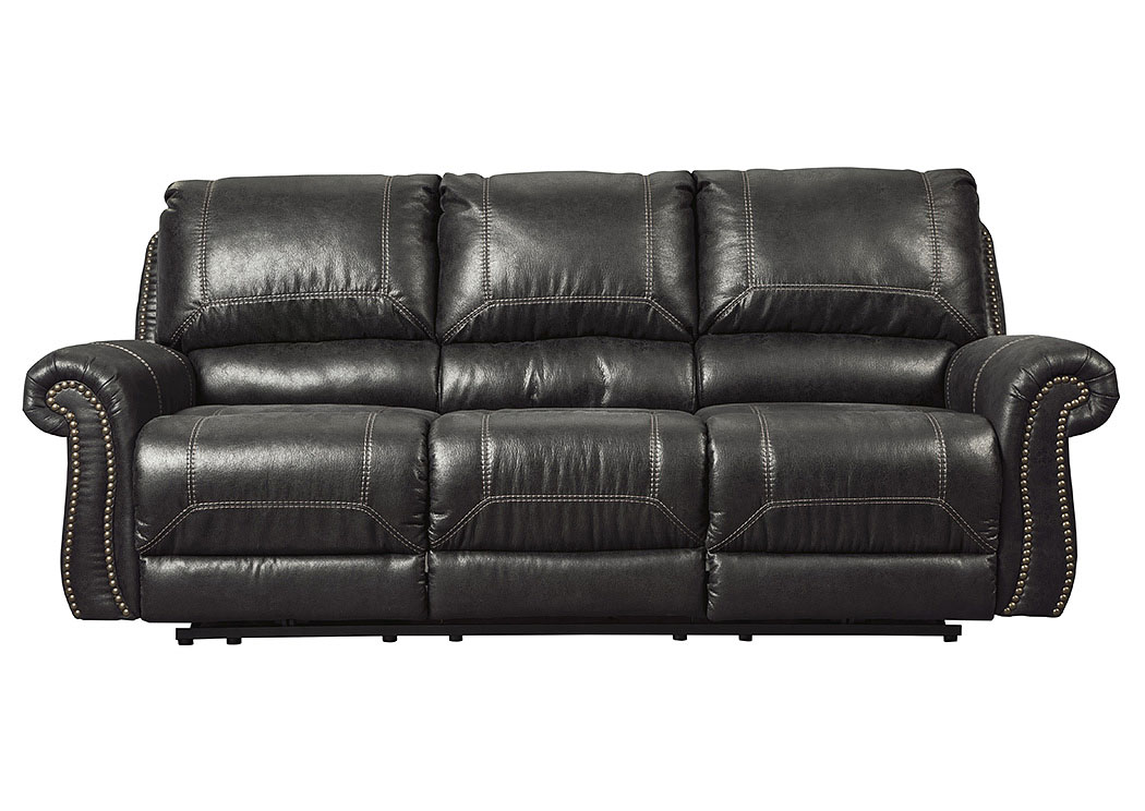 Milhaven Black Reclining Sofa,Signature Design By Ashley