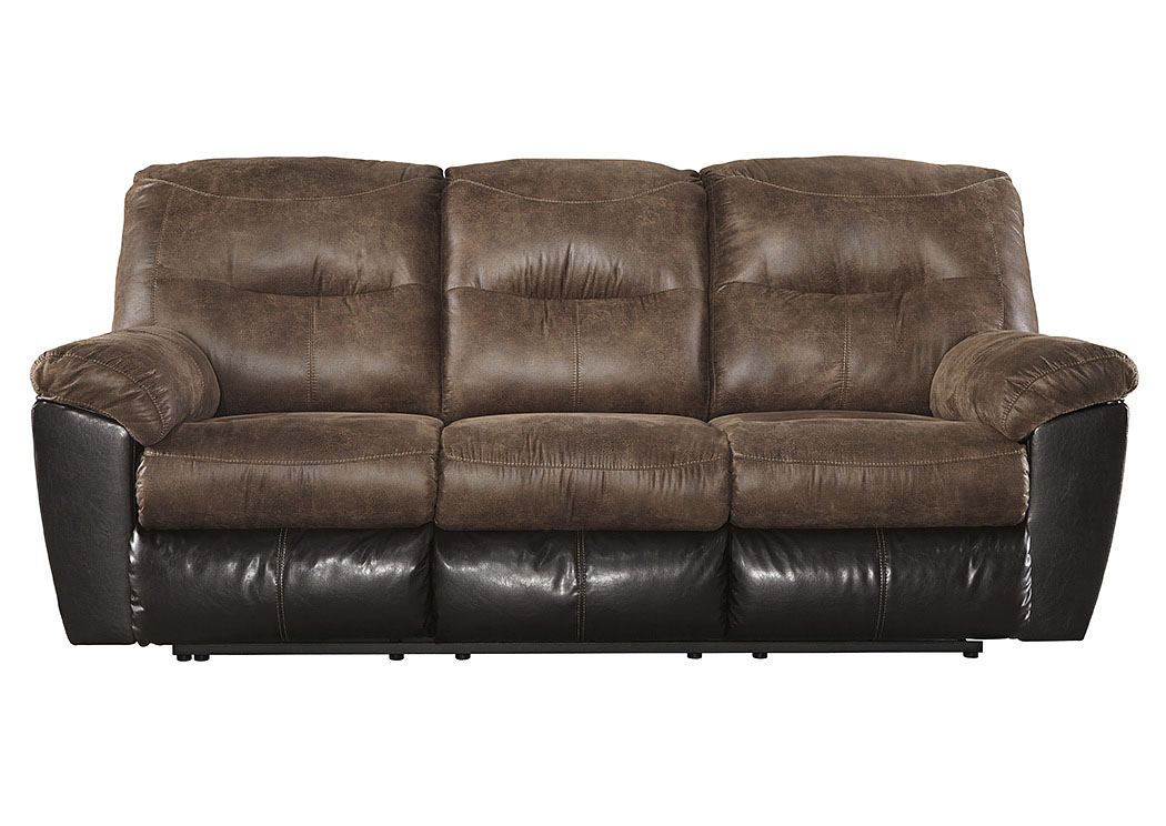 Follett Coffee Reclining Sofa,Signature Design By Ashley