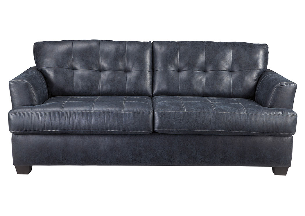 Inmon Navy Sofa,Benchcraft