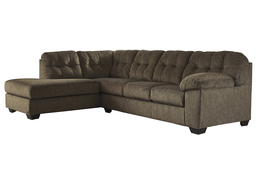 Accrington Earth Right Facing Sofa Chaise Sectional,Signature Design By Ashley