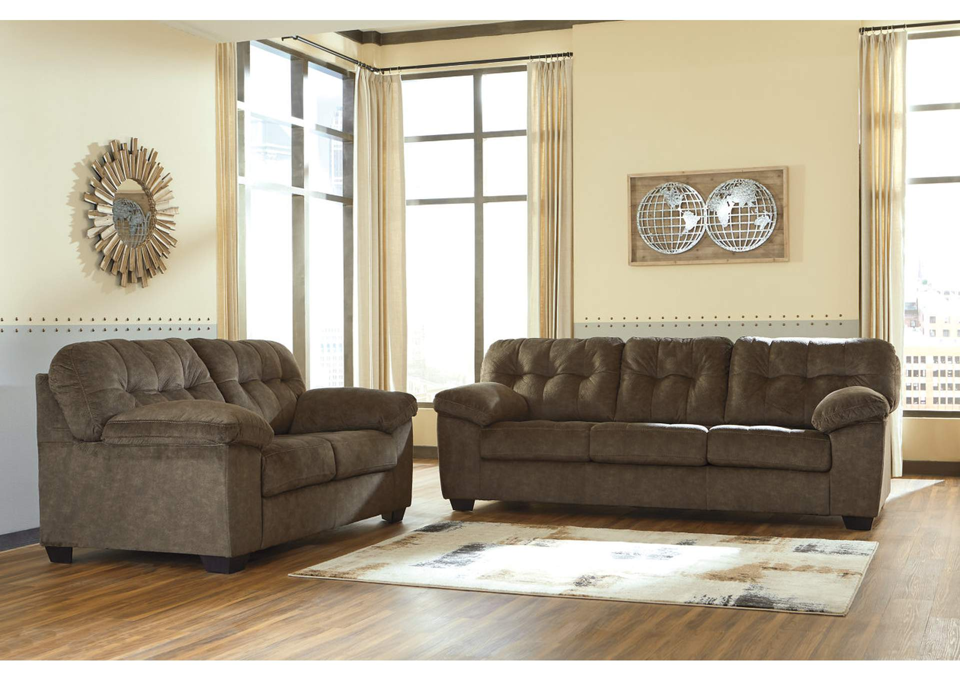 Accrington Earth Sofa & Loveseat,Signature Design By Ashley
