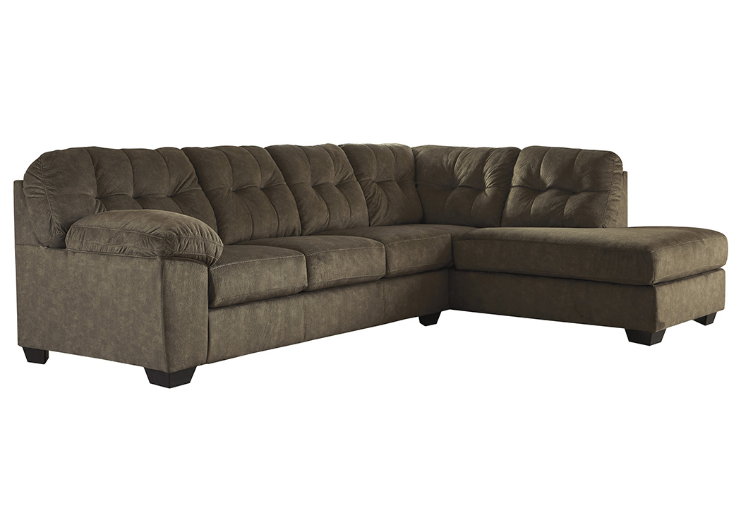 Accrington Earth Left Facing Sofa Chaise Sectional,Signature Design By Ashley