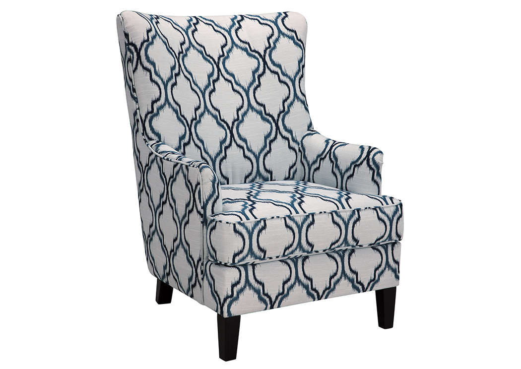 LaVernia Navy Accent Chair,Benchcraft