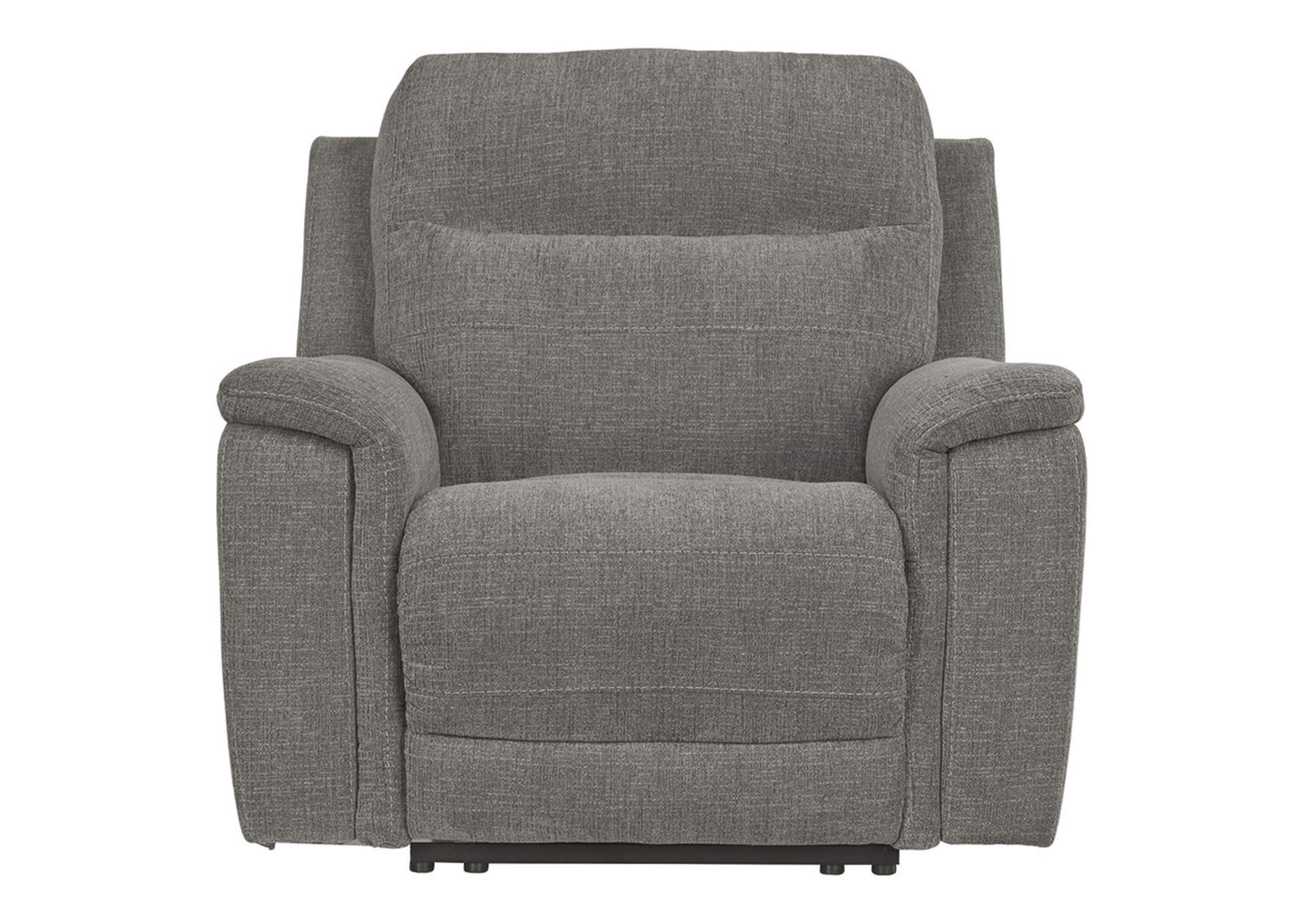 Mouttrie Smoke Power Recliner,Signature Design By Ashley
