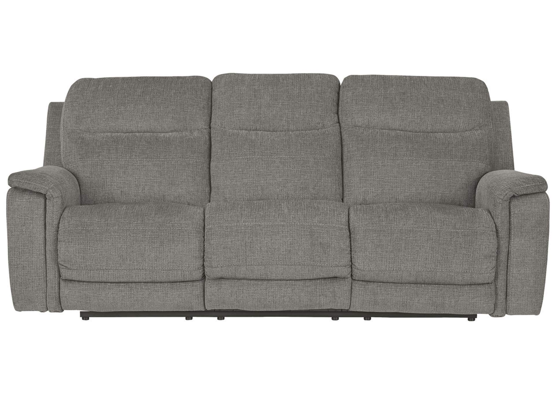 Mouttrie Smoke Power Reclining Sofa,Signature Design By Ashley