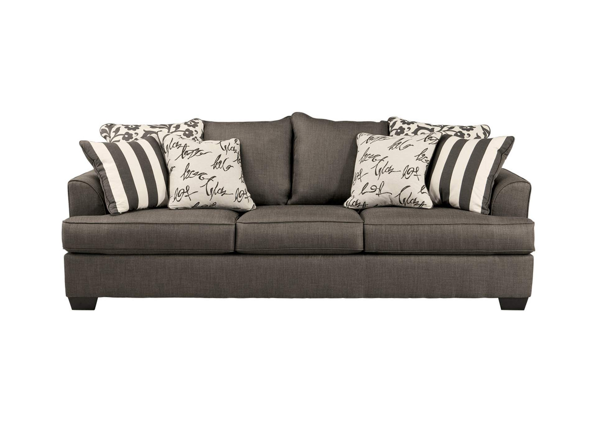 Levon Charcoal Queen Sofa Sleeper,Signature Design By Ashley