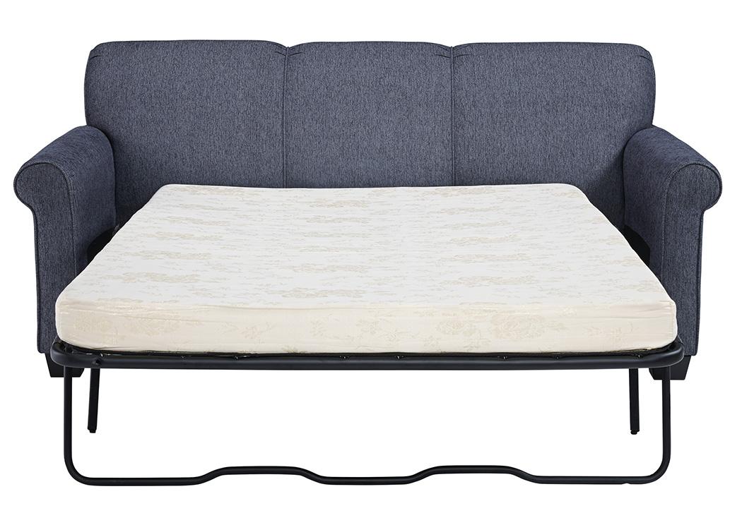 Cansler Denim Twin Sleeper Sofa,Signature Design By Ashley