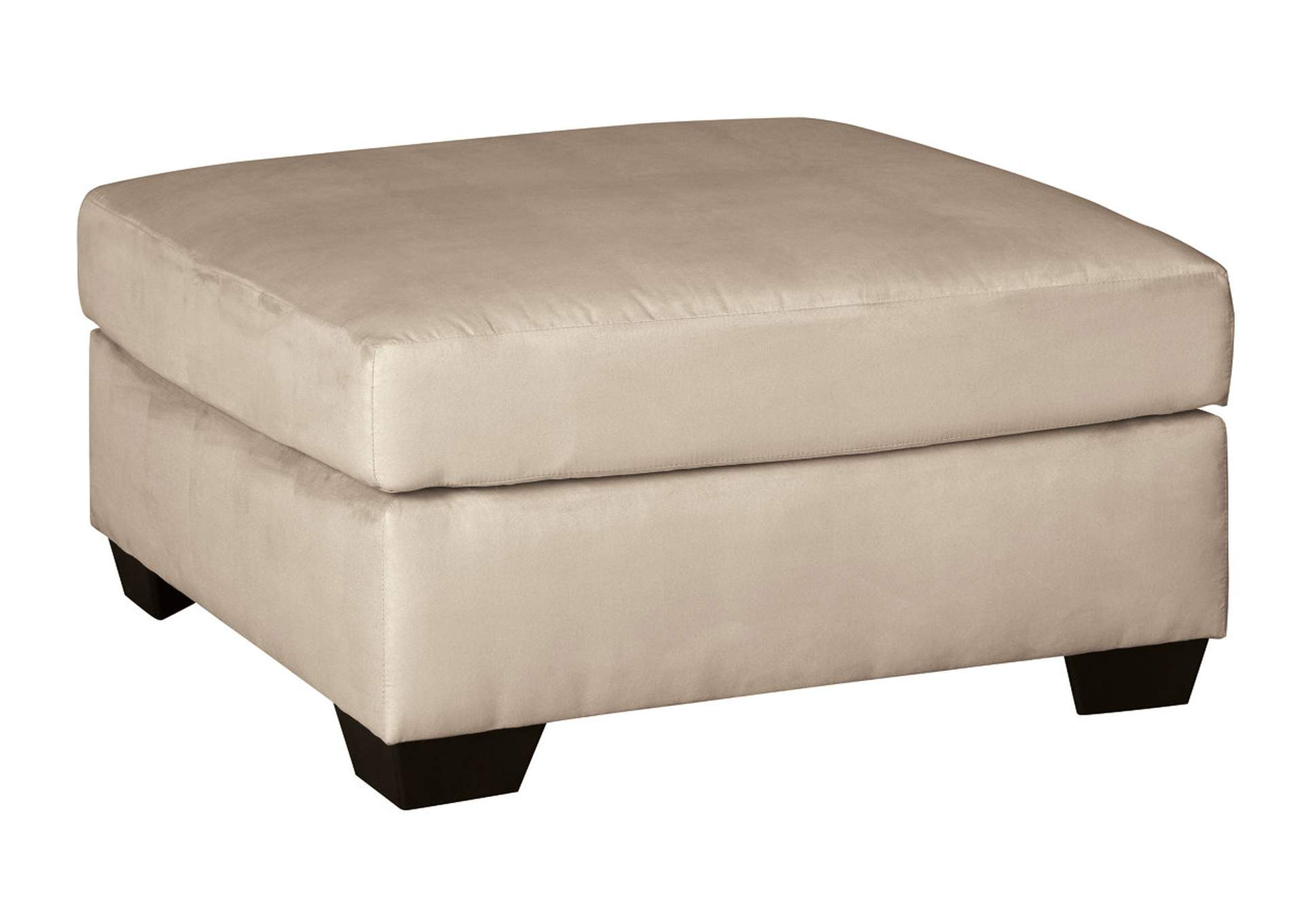 Darcy Stone Oversized Accent Ottoman,Signature Design By Ashley