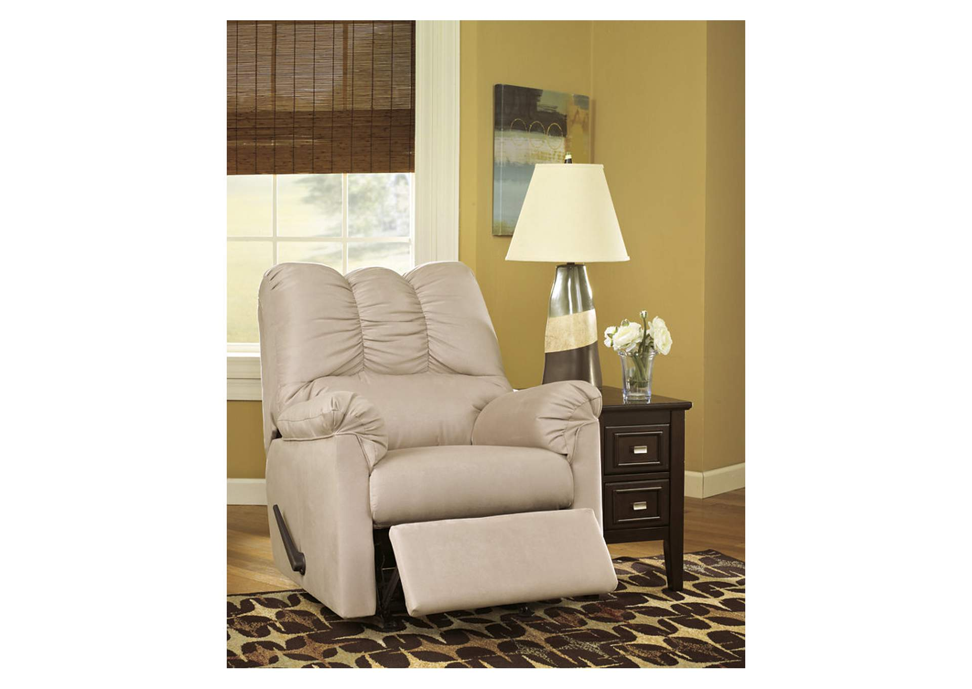 Darcy Stone Rocker Recliner,Signature Design By Ashley