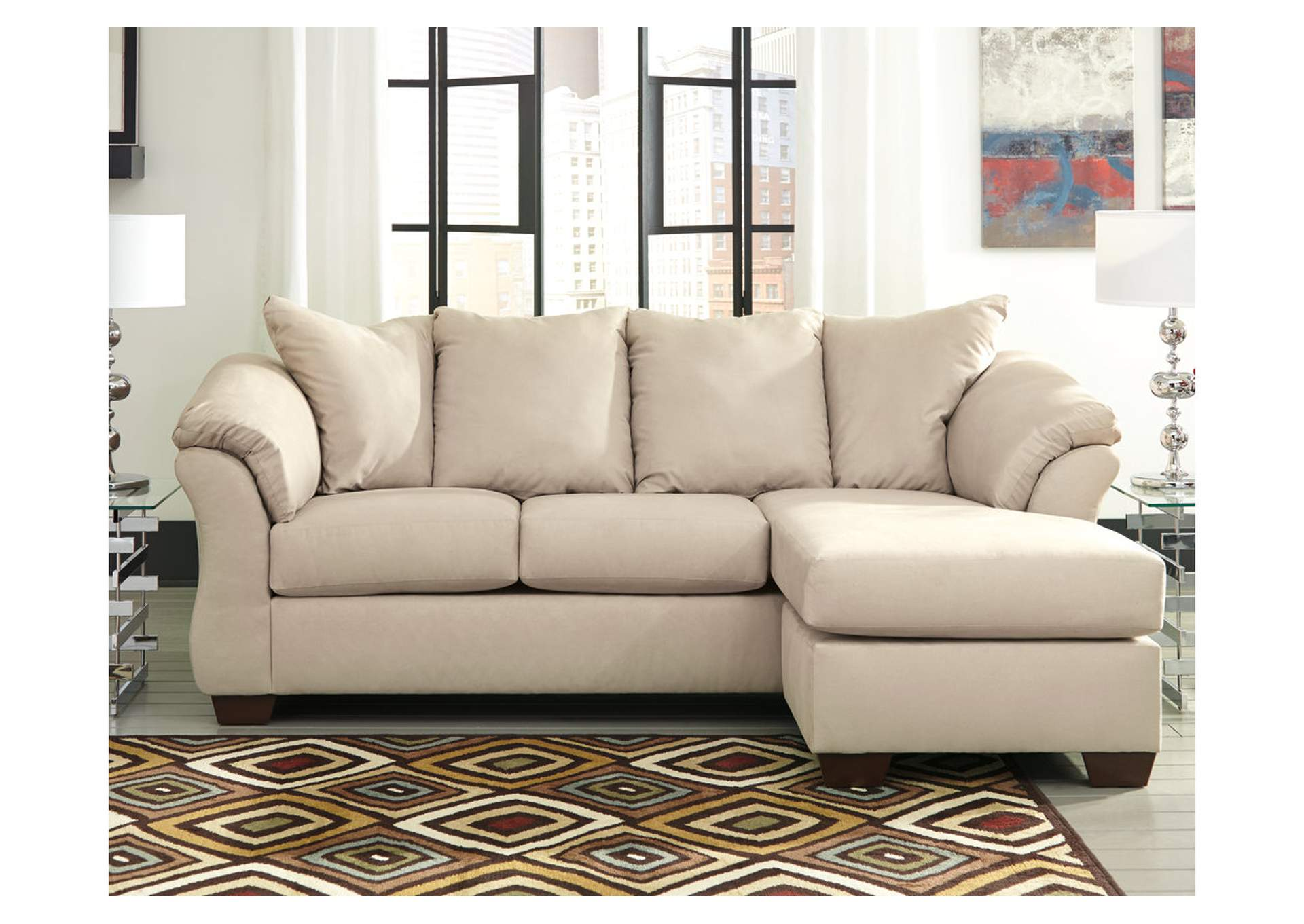 Darcy Stone Sofa Chaise,Signature Design By Ashley