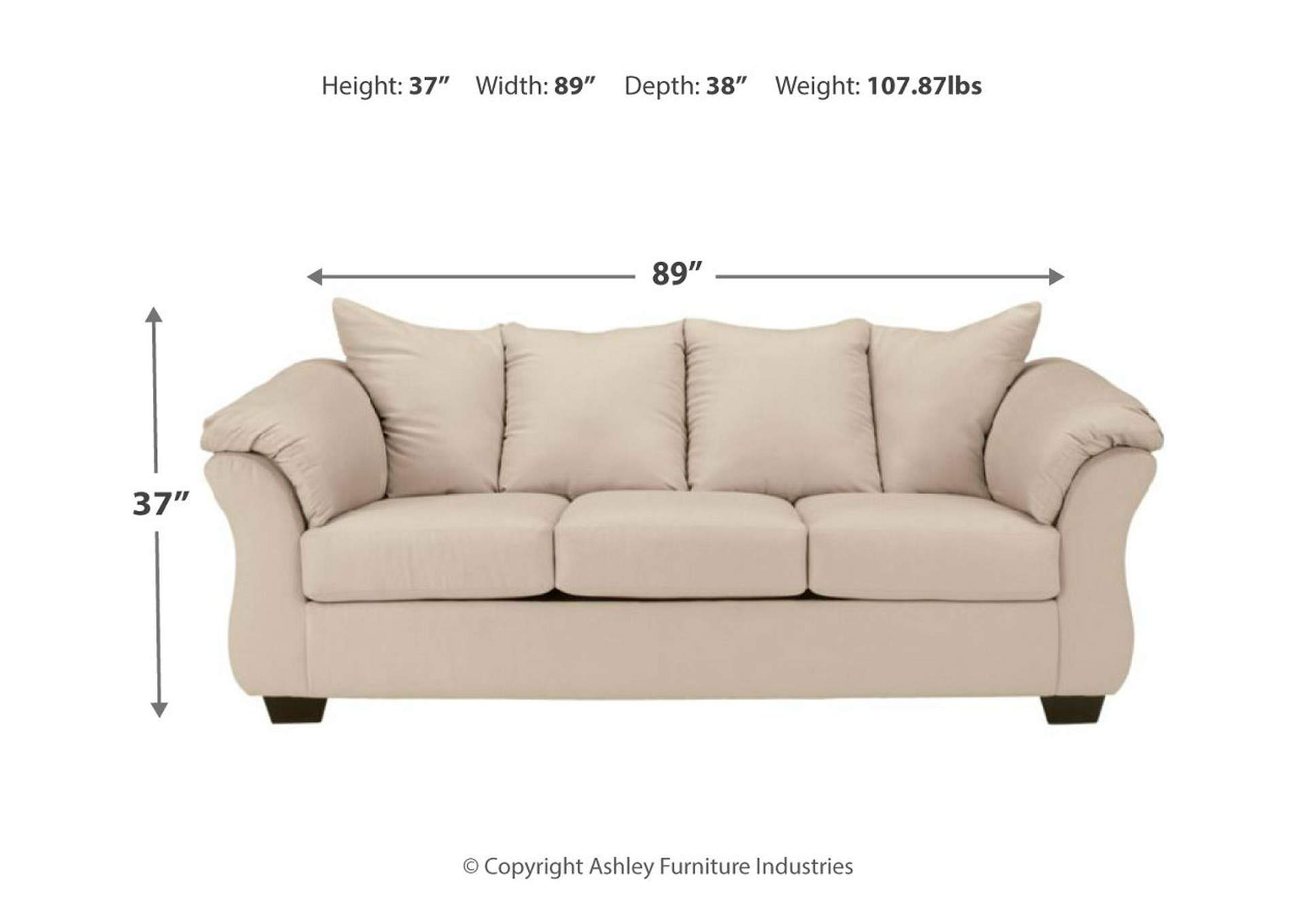 Darcy Stone Sofa,Signature Design By Ashley