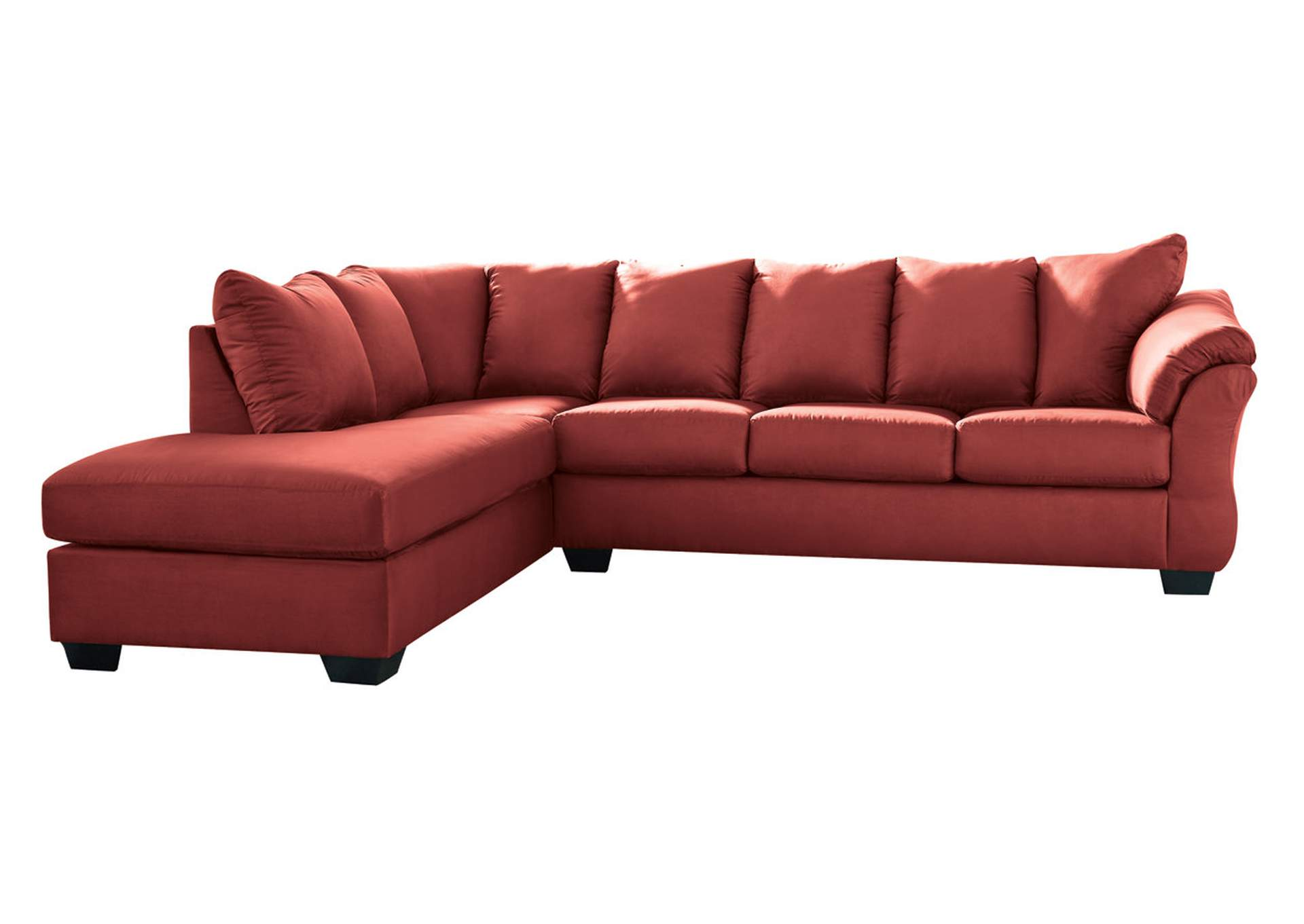 Darcy Salsa LAF Chaise Sectional,Signature Design By Ashley