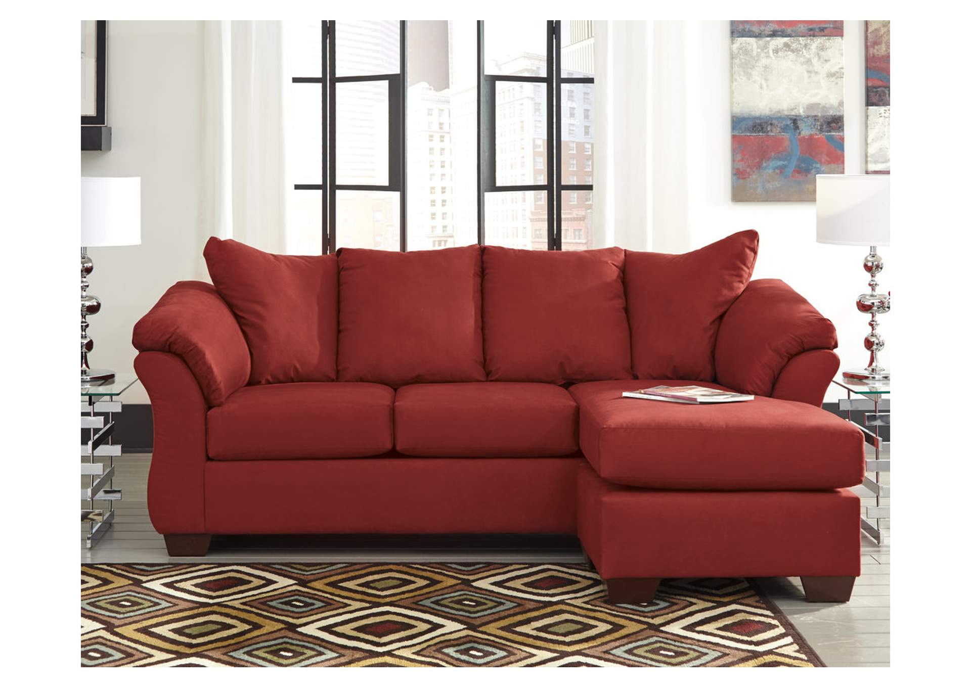 Darcy Salsa Sofa Chaise,Signature Design By Ashley