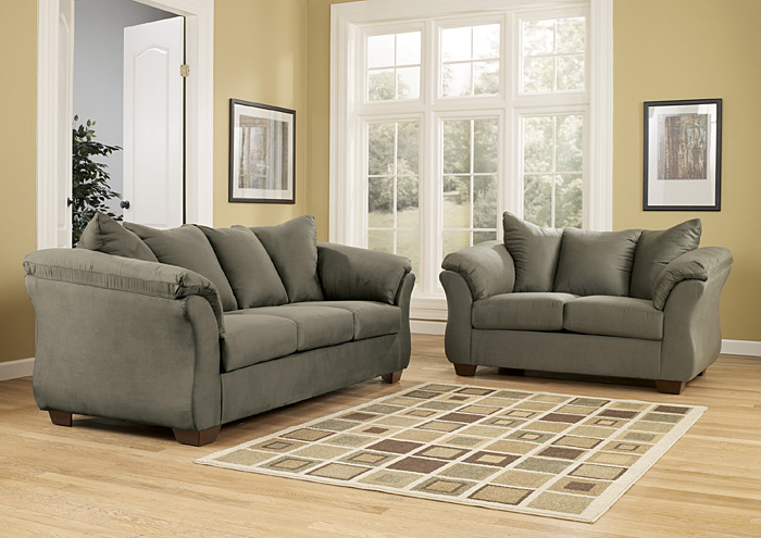 City Furniture Home Decor Stamford Ct Darcy Sage Sofa Loveseat