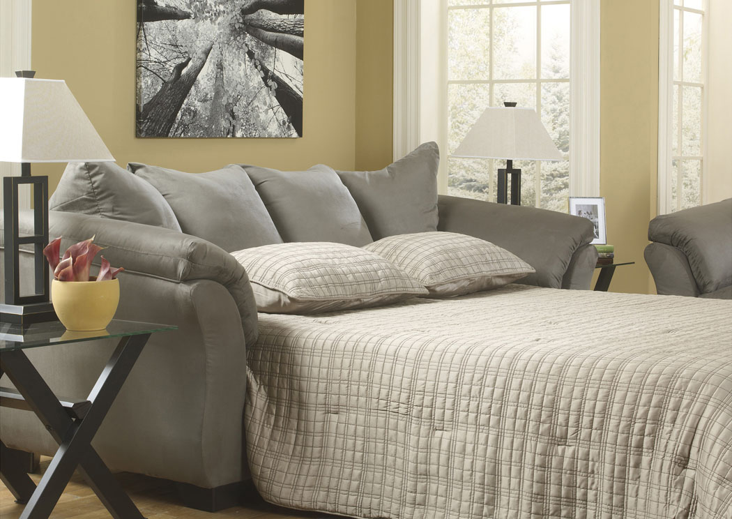Darcy Cobblestone Full Sofa Sleeper,Signature Design By Ashley