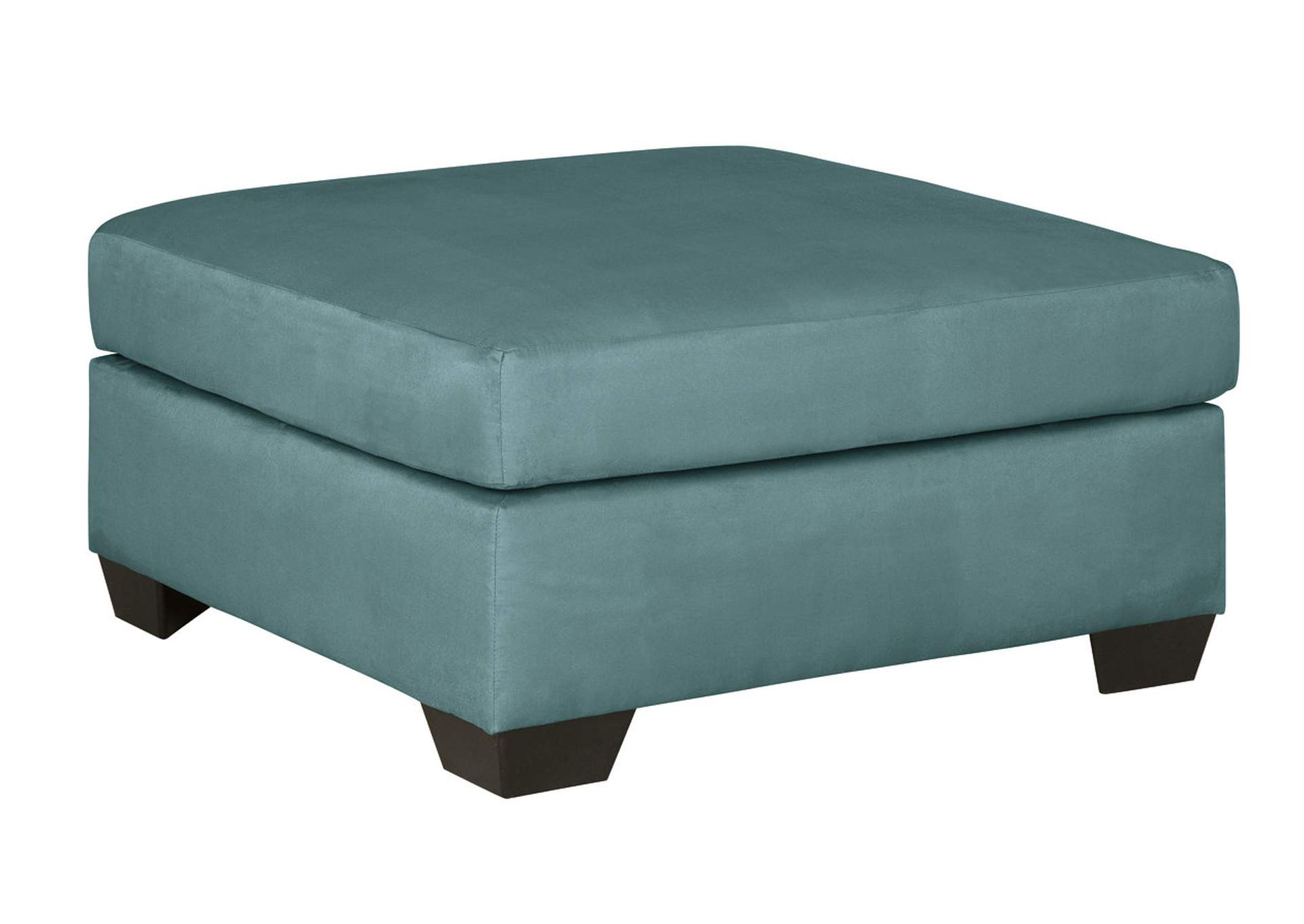 Darcy Sky Oversized Accent Ottoman,Signature Design By Ashley