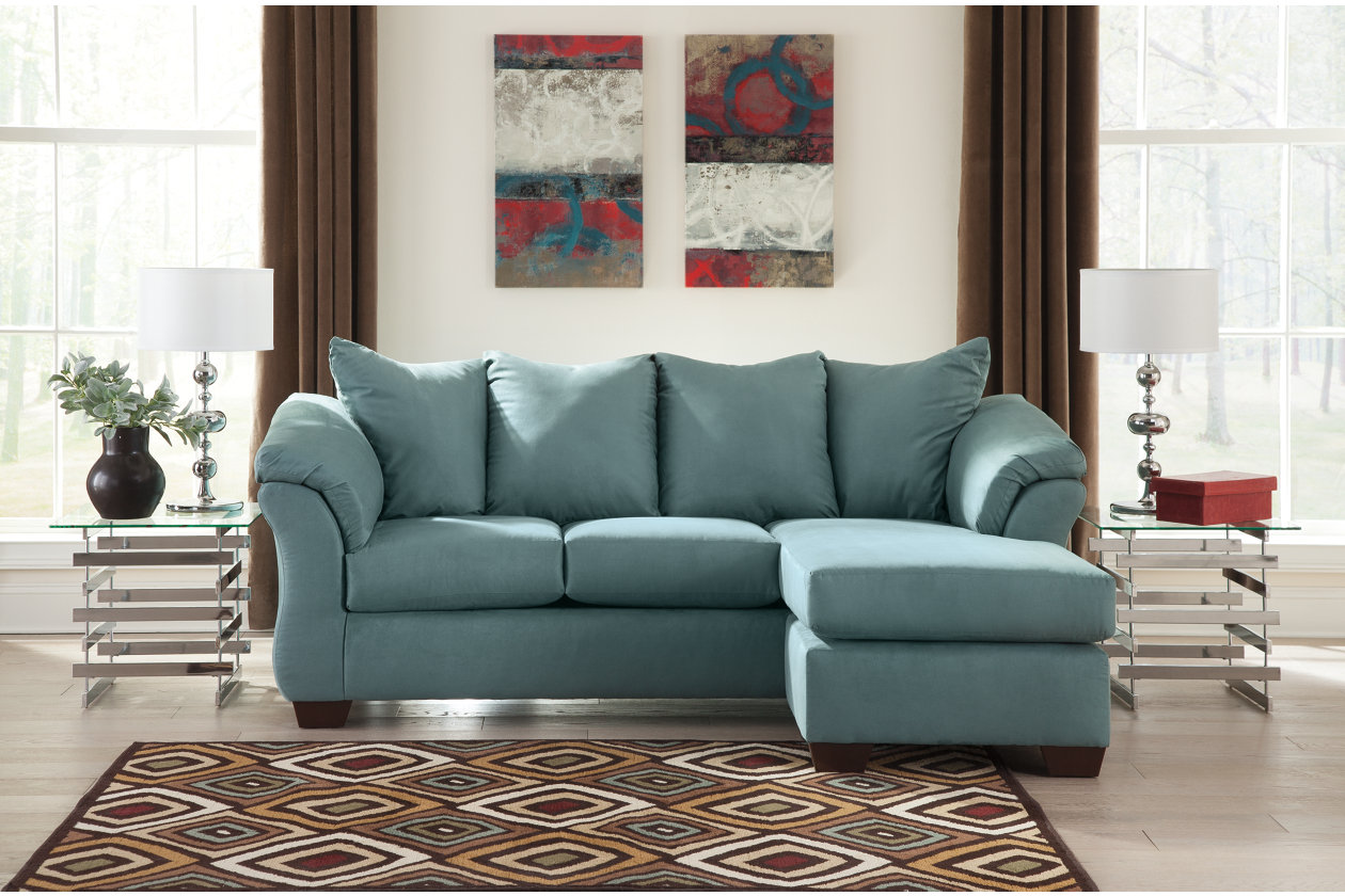 Jerusalem Furniture Philadelphia Furniture Store | Home Furnishings  Philadelphia, PA Darcy Sky Sofa Chaise