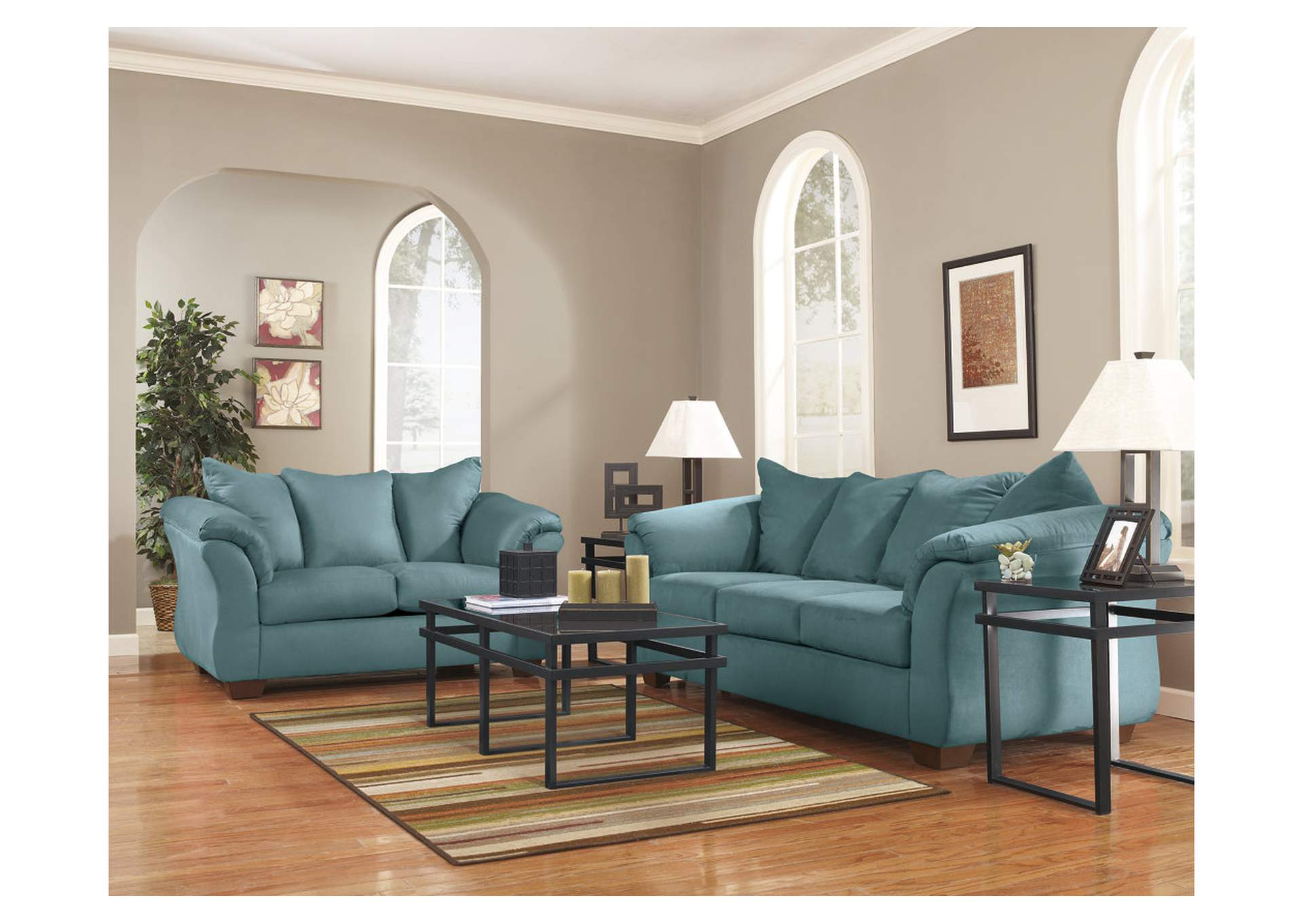 Darcy Sky Loveseat,Signature Design By Ashley
