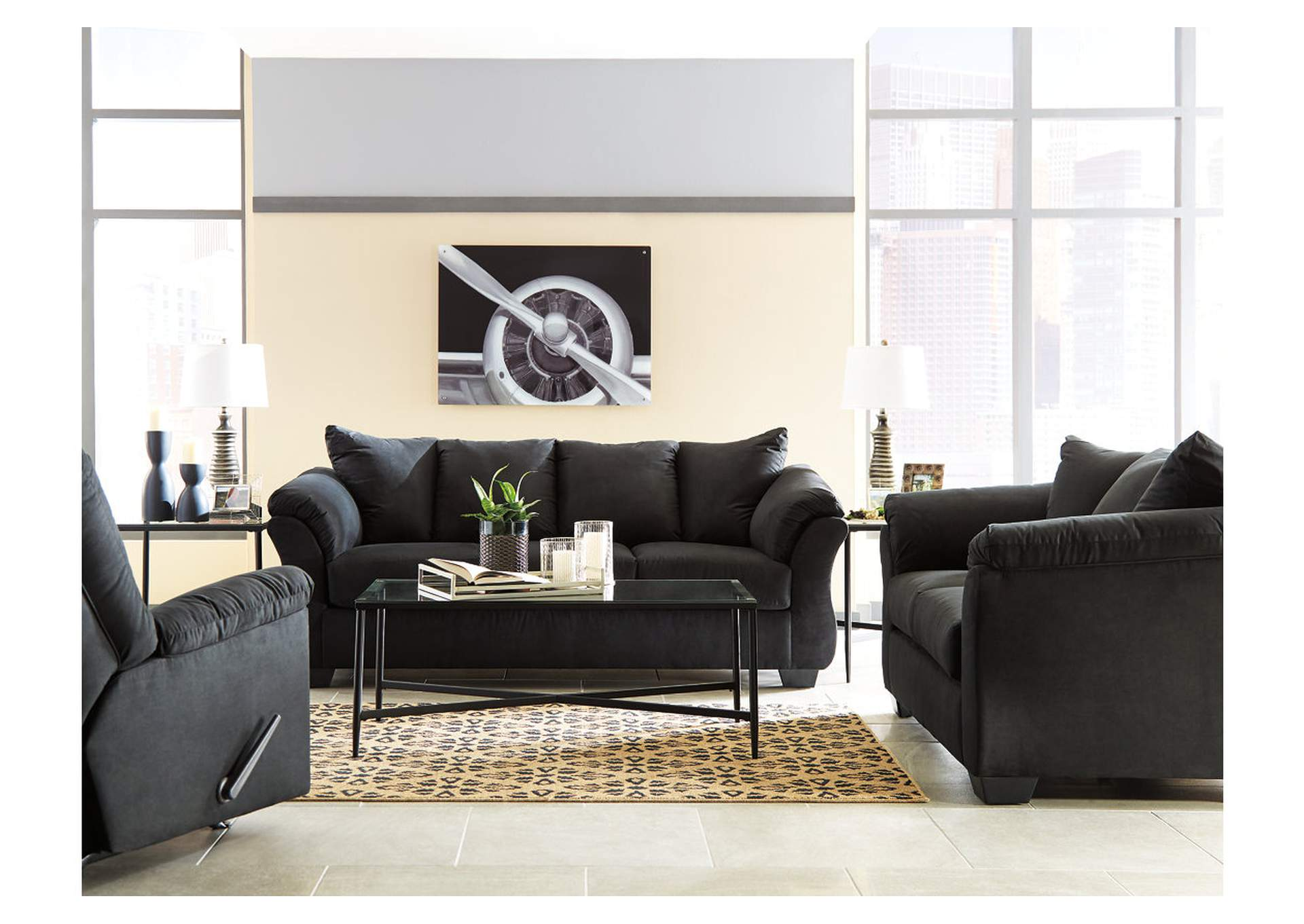 Darcy Black Sofa,Signature Design By Ashley