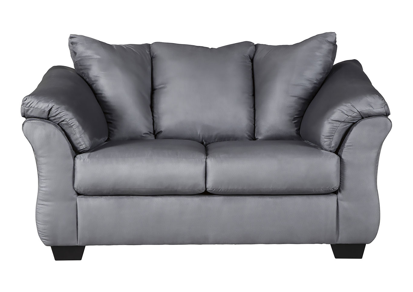 Darcy Steel Loveseat,Signature Design By Ashley