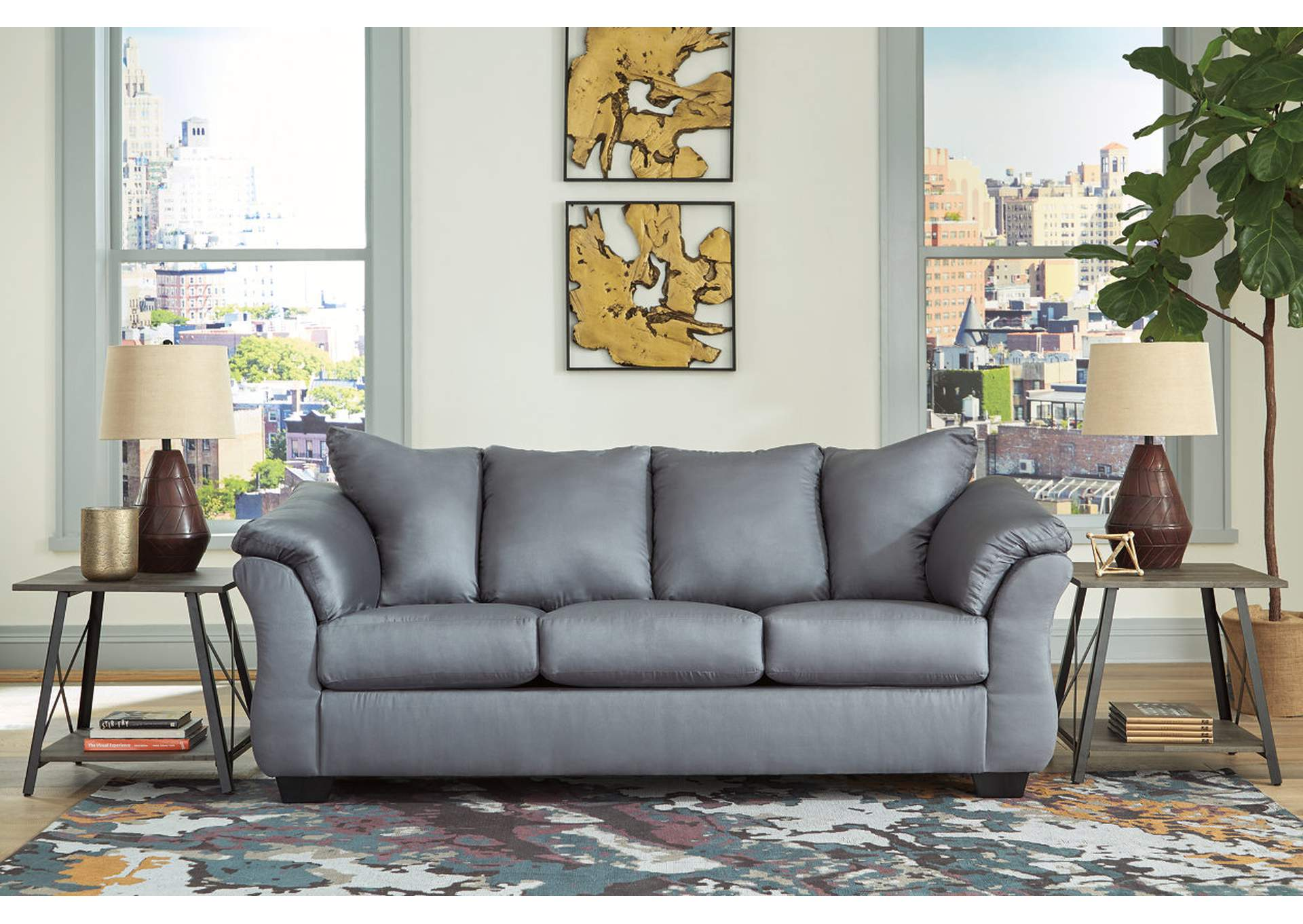 Darcy Steel Sofa,Signature Design By Ashley