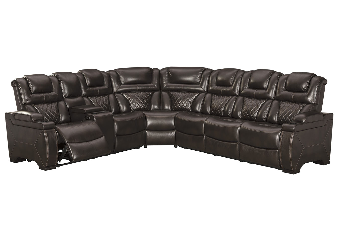Warnerton Power Reclining Sectional,Signature Design By Ashley