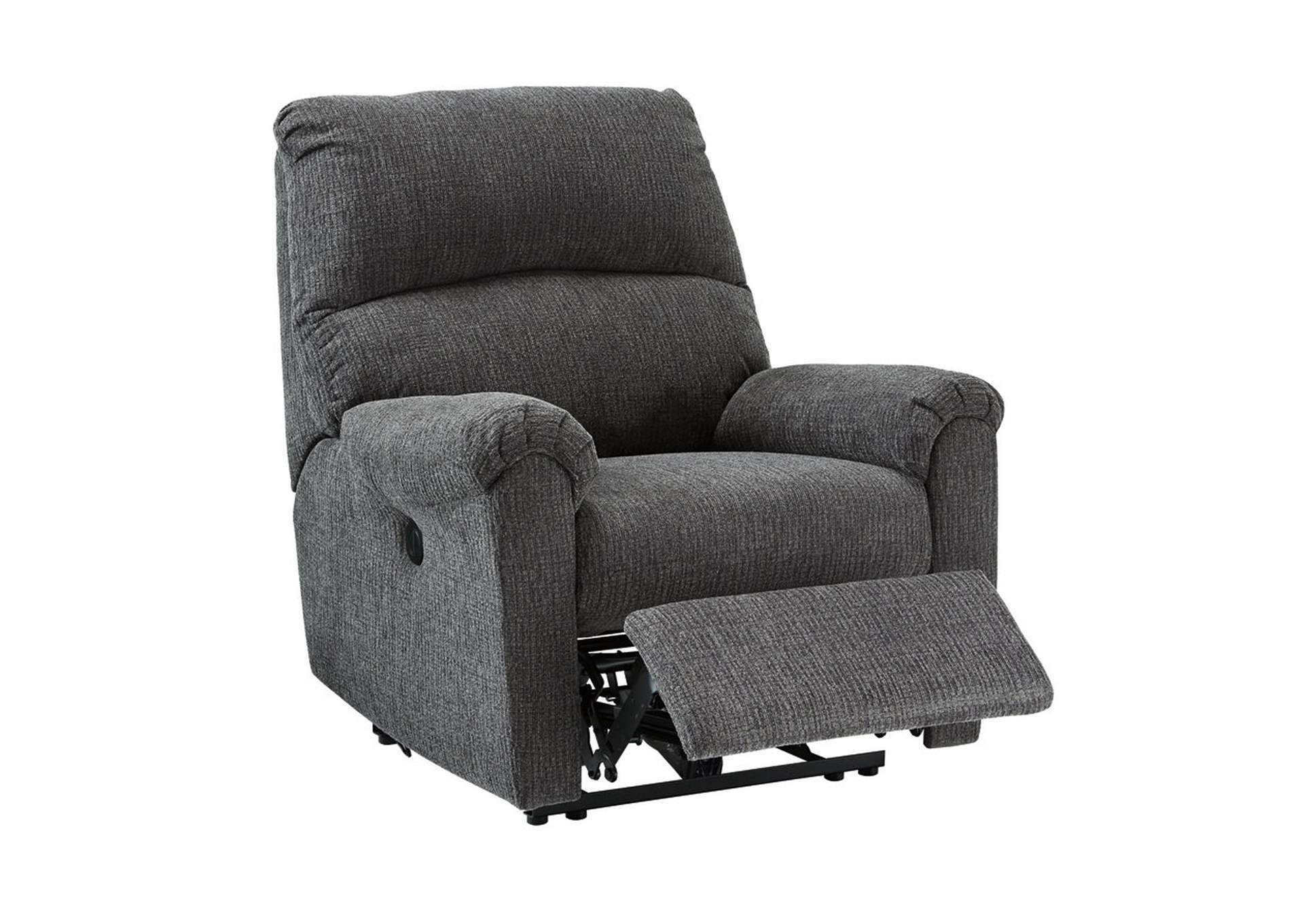 McTeer Charcoal Power Recliner,Signature Design By Ashley