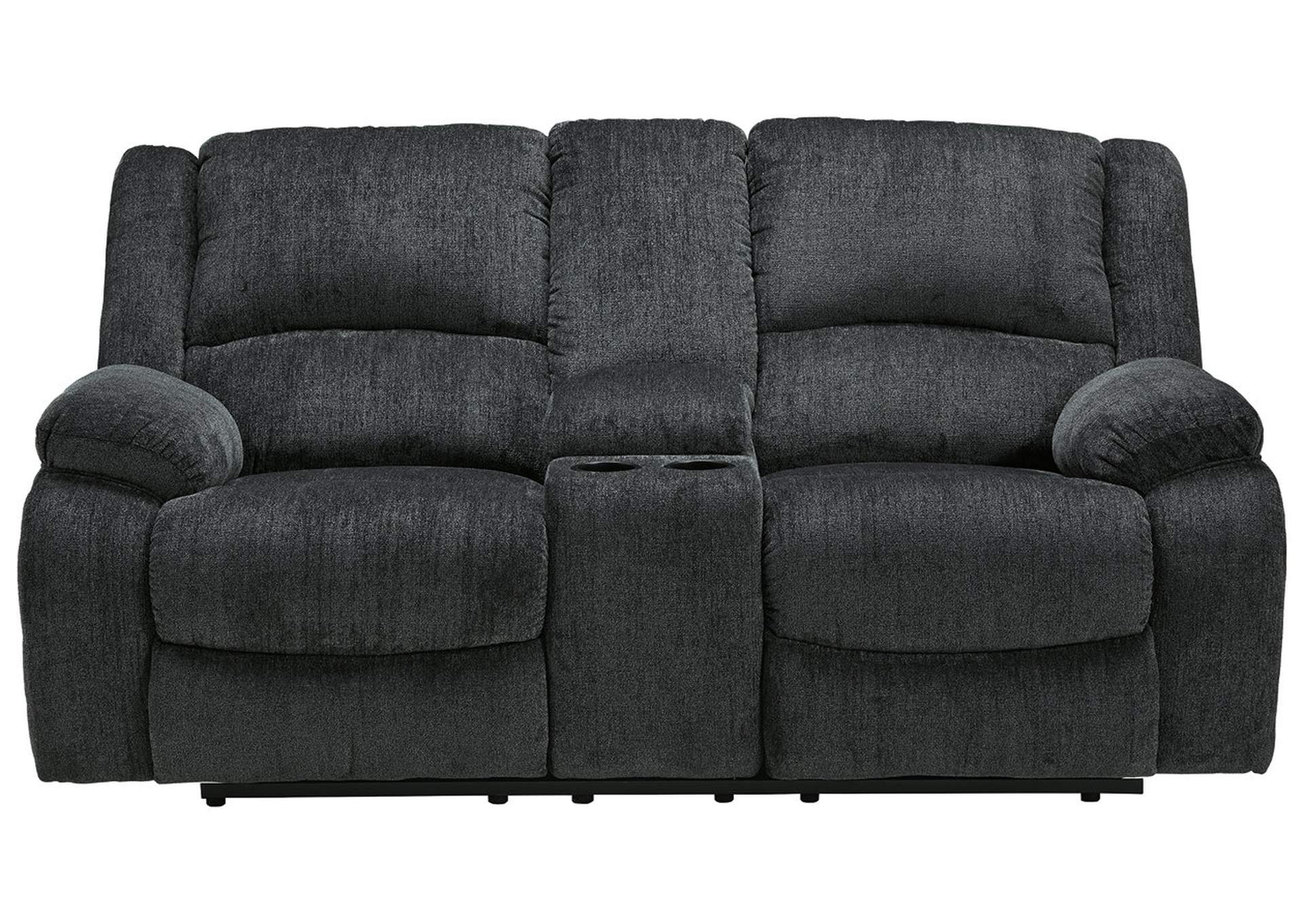 Draycoll Reclining Loveseat with Console,Signature Design By Ashley