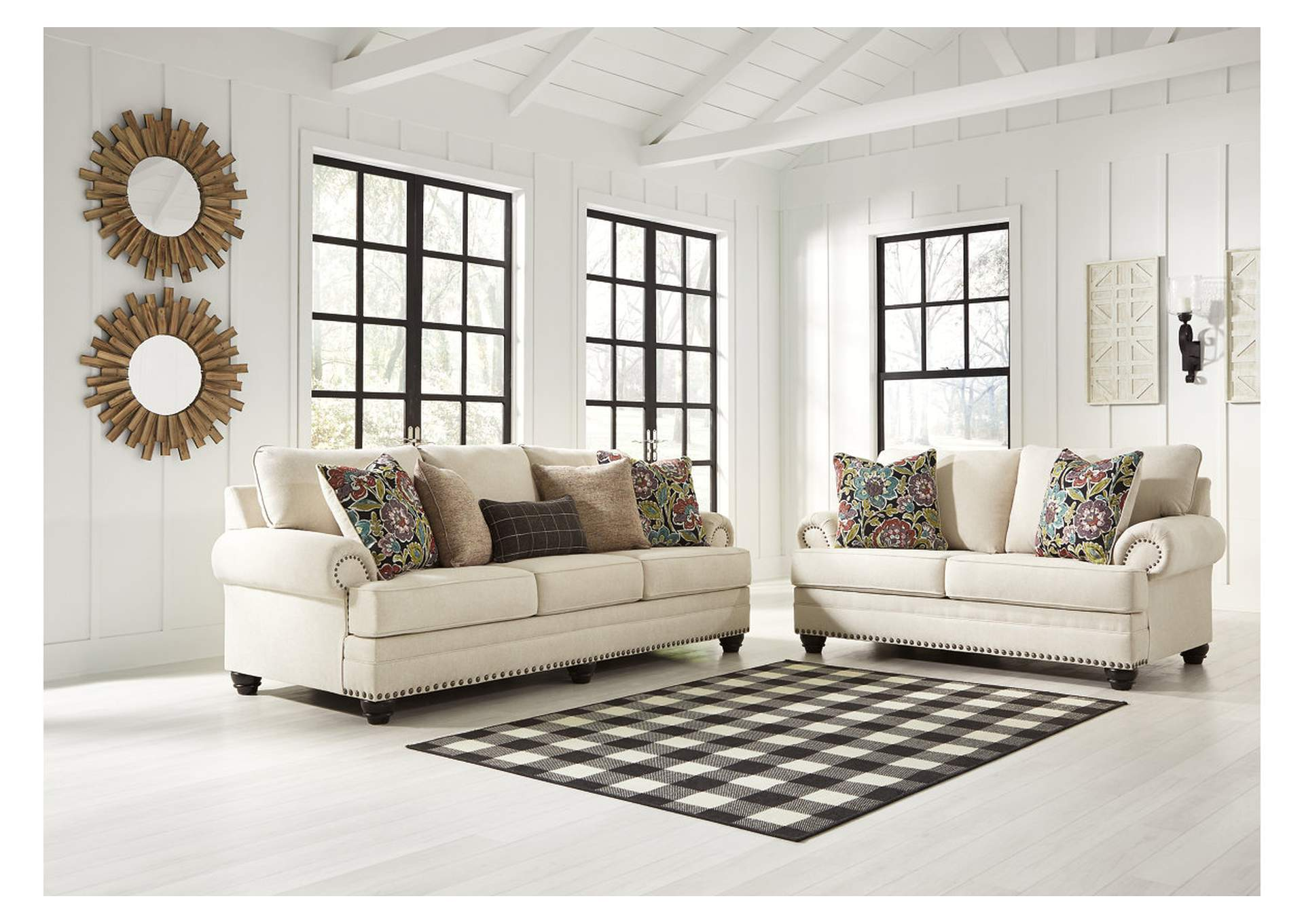 Harrietson Shell Sofa & Loveseat,Signature Design By Ashley