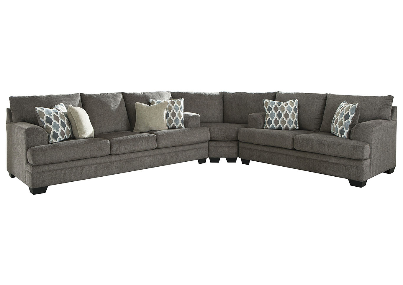 Dorsten Slate Sectional,Signature Design By Ashley