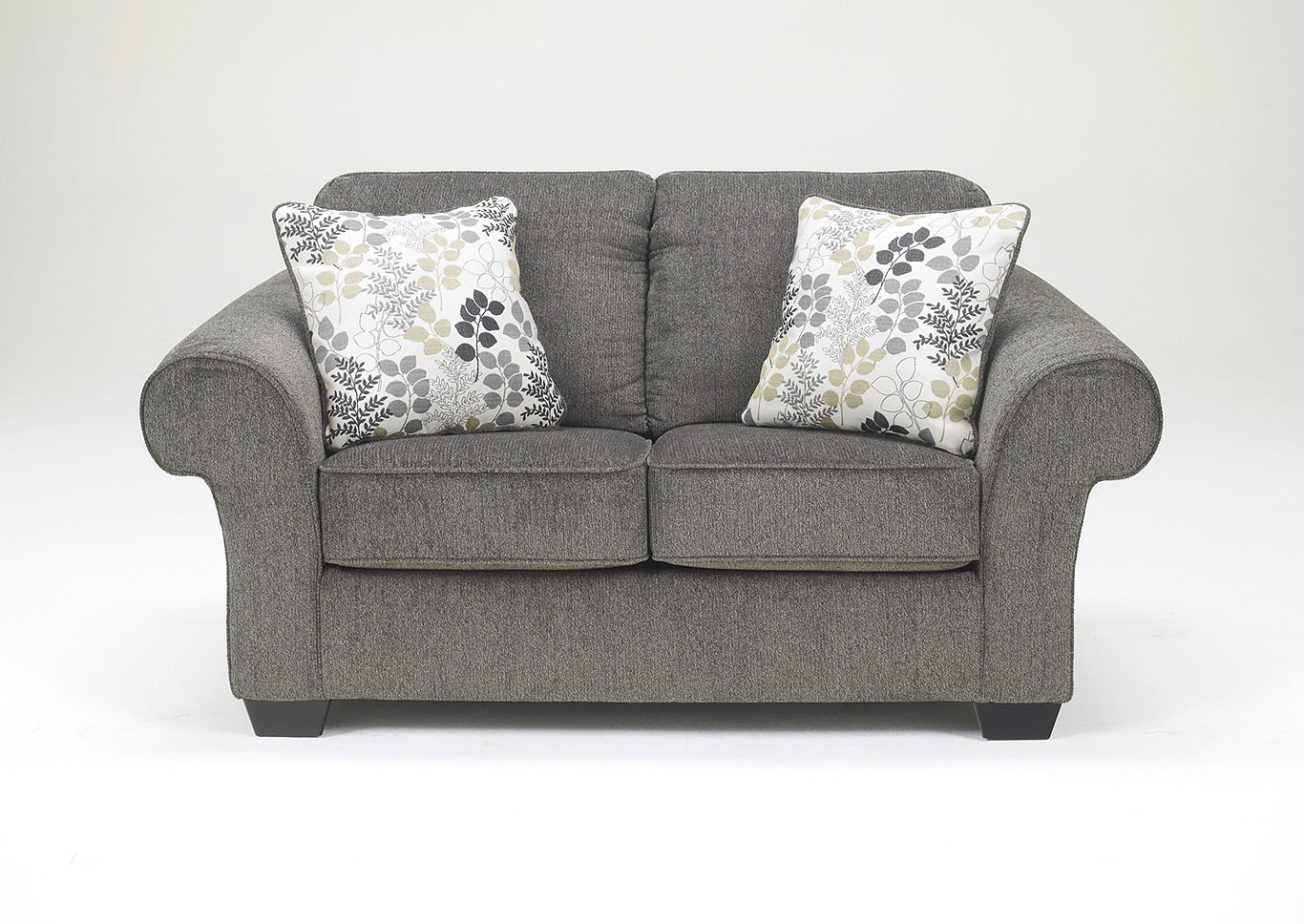 Makonnen Charcoal Loveseat,Signature Design By Ashley