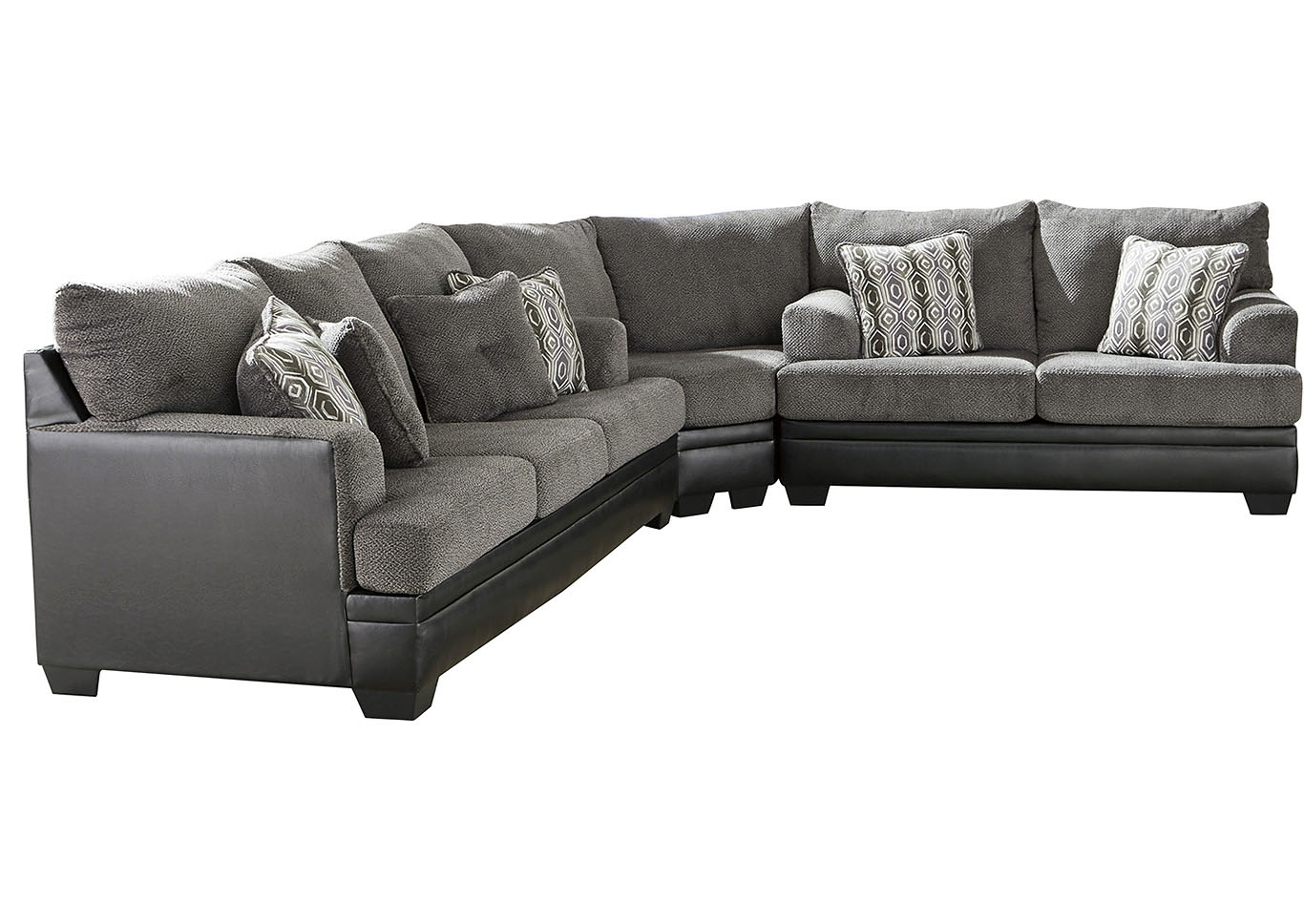 Millingar Smoke Sectional,Signature Design By Ashley