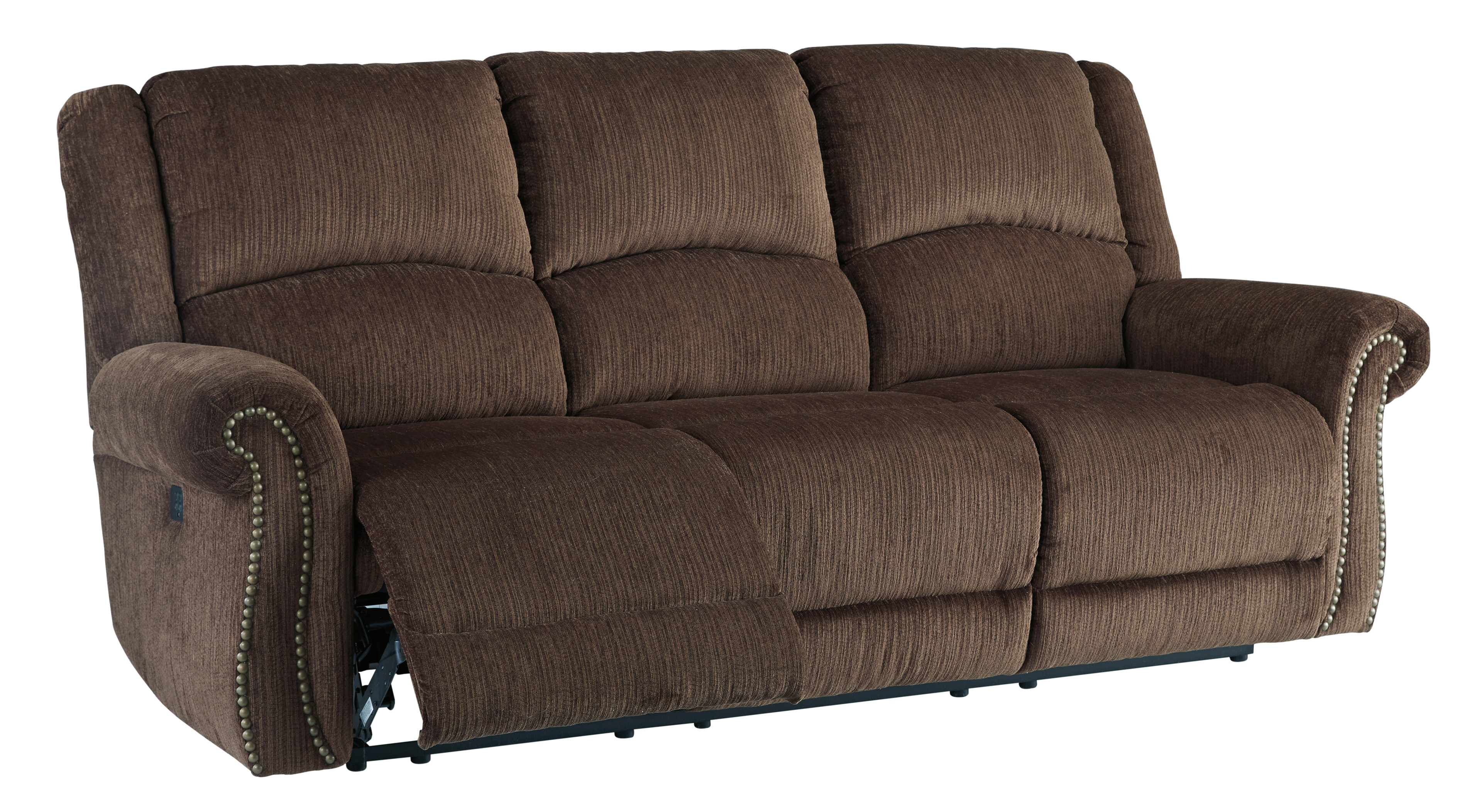 Excellent Select Imports Furniture And Decor Goodlow Chocolate Power Short Links Chair Design For Home Short Linksinfo