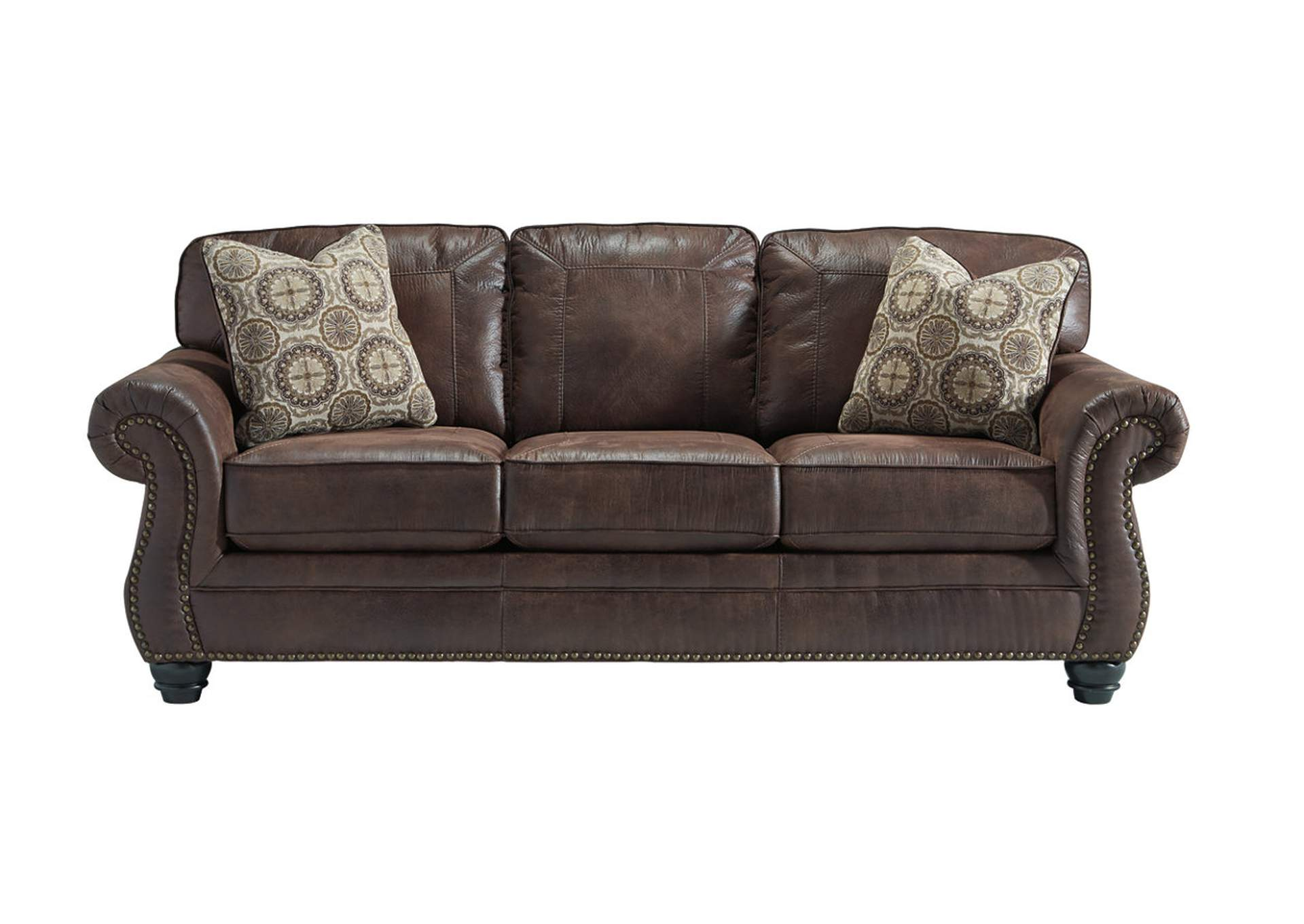 Furniture Liquidators Home Center Breville Espresso Sofa