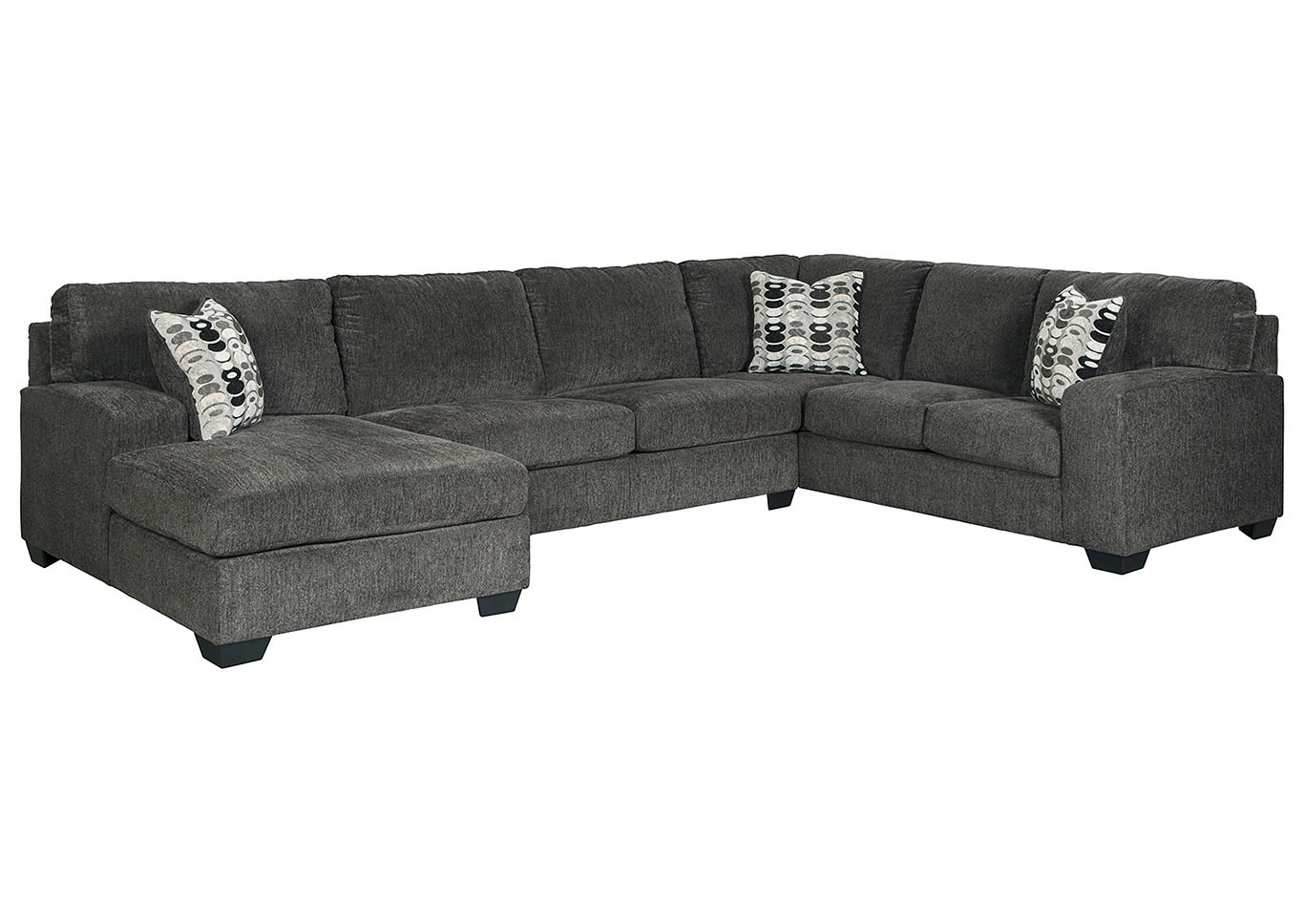 Ballinasloe Smoke LAF Chaise Sectional,Signature Design By Ashley