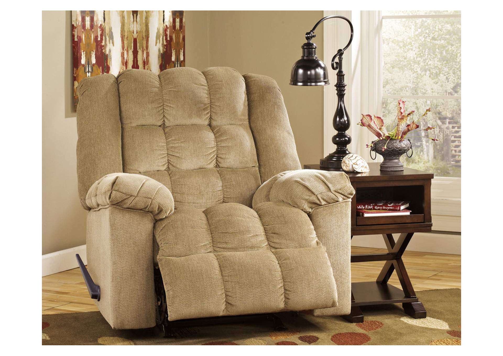 Ludden Sand Rocker Recliner,Signature Design By Ashley