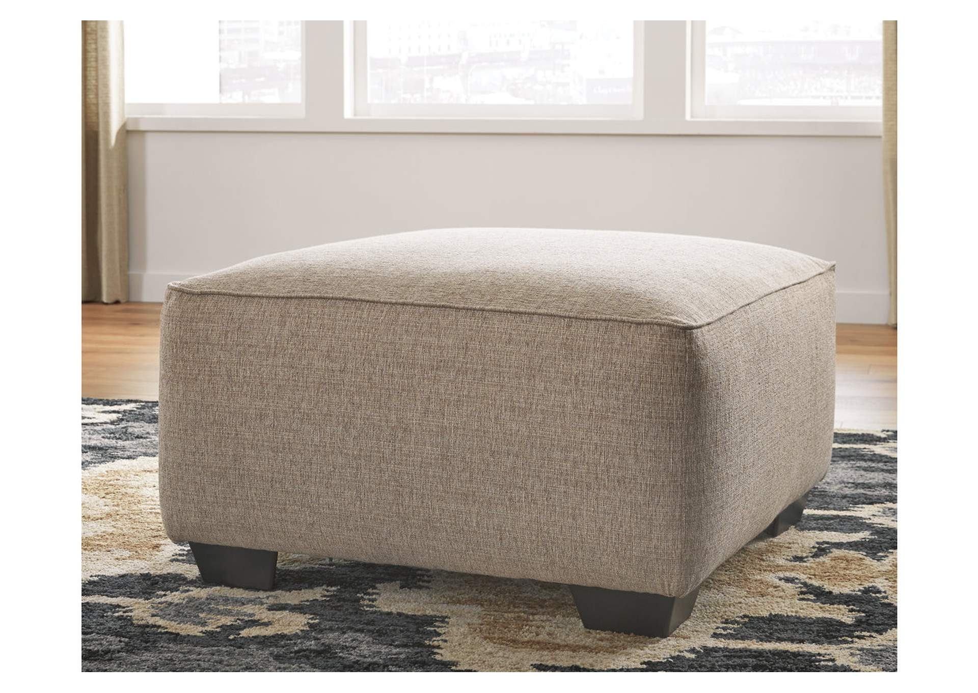 Baceno Hemp Oversized Ottoman,Ashley