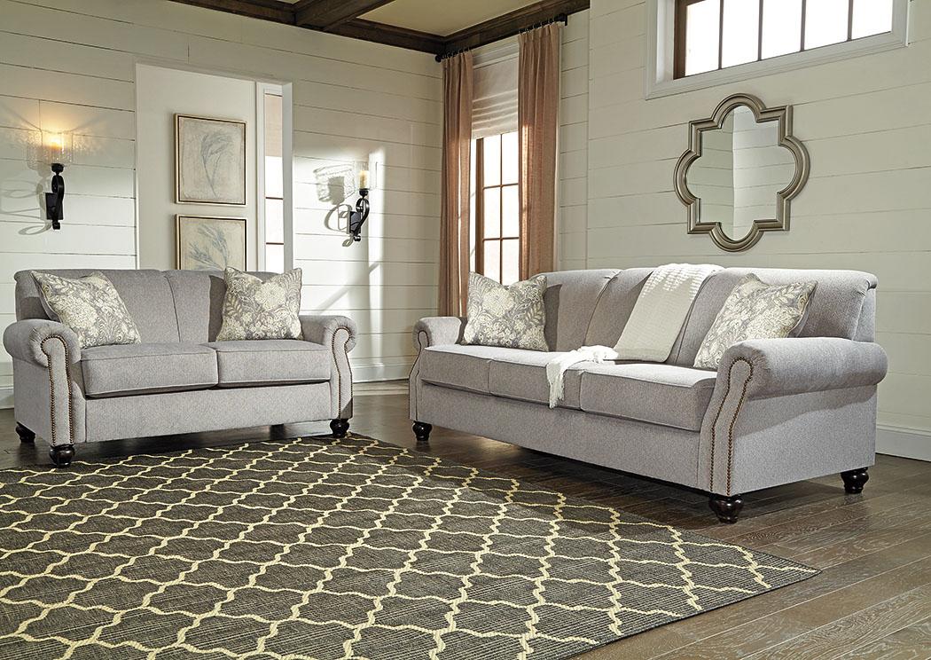 Avelynne Ocean Sofa And Loveseat,Benchcraft