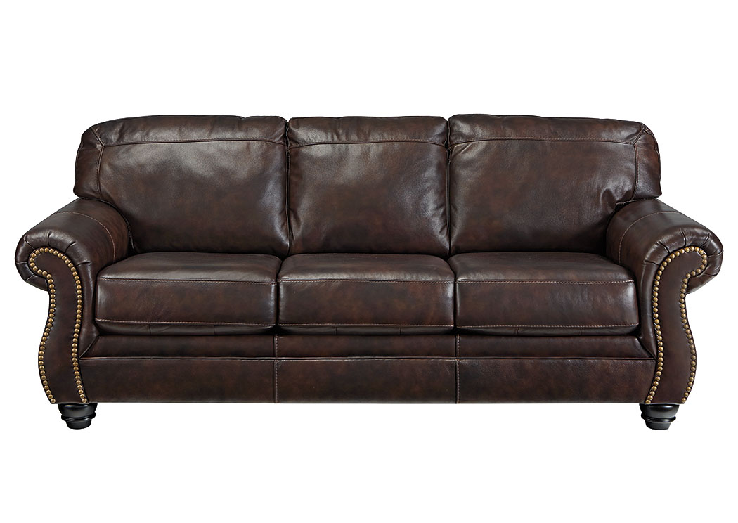 Bristan Walnut Sofa,Signature Design By Ashley