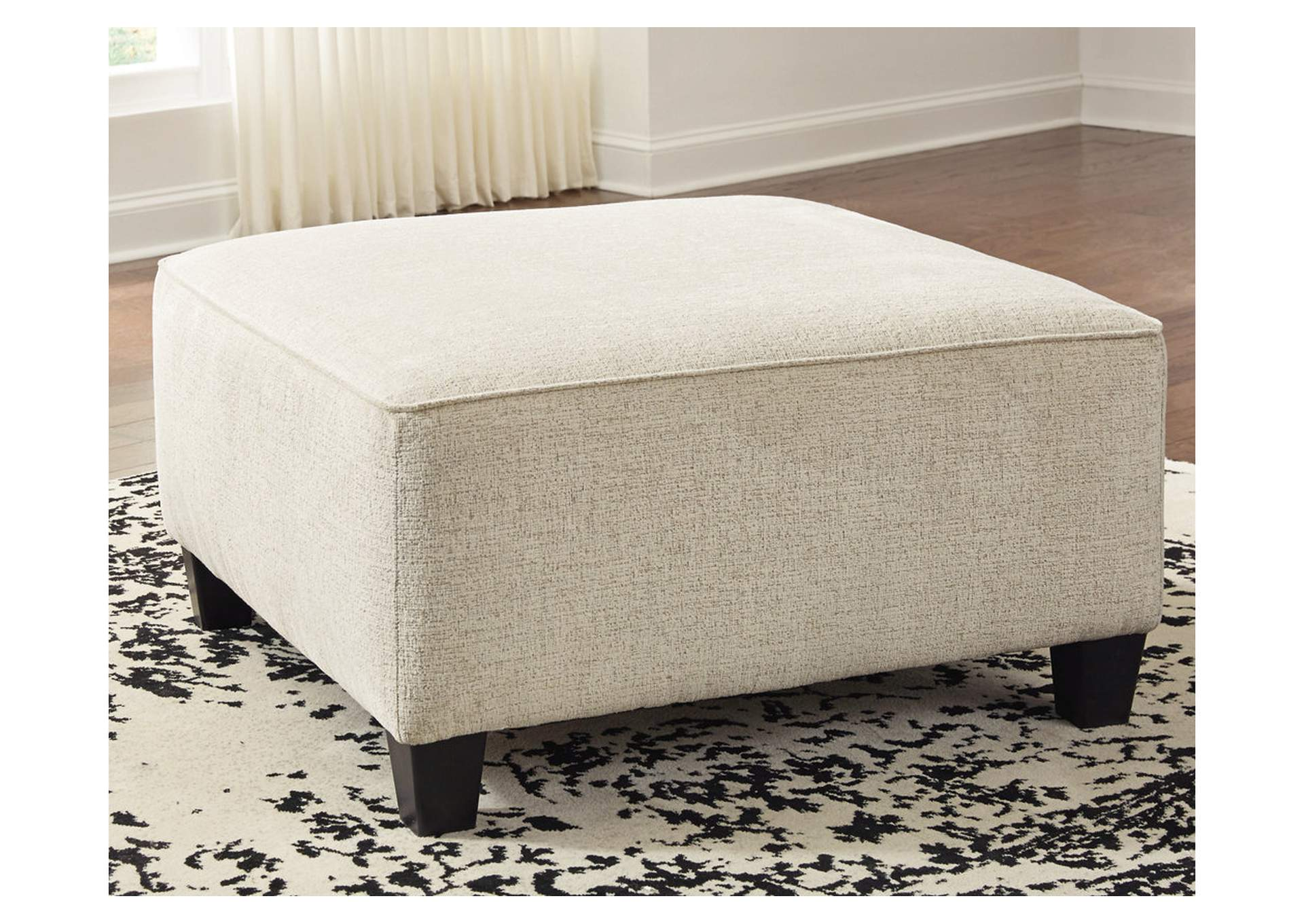 Abinger Oversized Accent Ottoman,Signature Design By Ashley